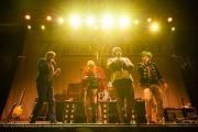 77 Bombay Street auf der Bühne am Touch the Mountains am 01. Januar 2014 in Interlaken, BE.  Bild: Manuel Lopez / liveit.ch