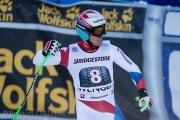 Superkombination am Weltcuprennen in Wengen