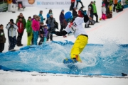 Damian Bertschi aus Thun gewann die Kategorie Erwachsene, Snowboard.