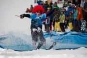 Franco Gerber gewann die Kategorie der skifahrenden Jugendlichen.