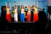 Die Gruppe aus Zürich zeigte im Kunstmuseum ihre Künste im Oriental Dance.