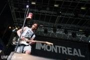 Montreal auf der Clubstage des Greenfieldfestivals.