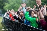 Apologiees, i have none am Greenfieldfestival in Interlaken.