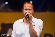 Ritschi am 11. Juli 2014 während einem  Konzert am Wankdorf Fest in Bern. Bild: Manuel Lopez / liveit.ch