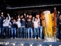 16.04.2016; Bern; Eishockey SC Bern Meisterfeier Bern; Das Team des SC Bern an der Meisterfeier auf dem Bundesplatz in Bern (Manuel Lopez/freshfocus)
