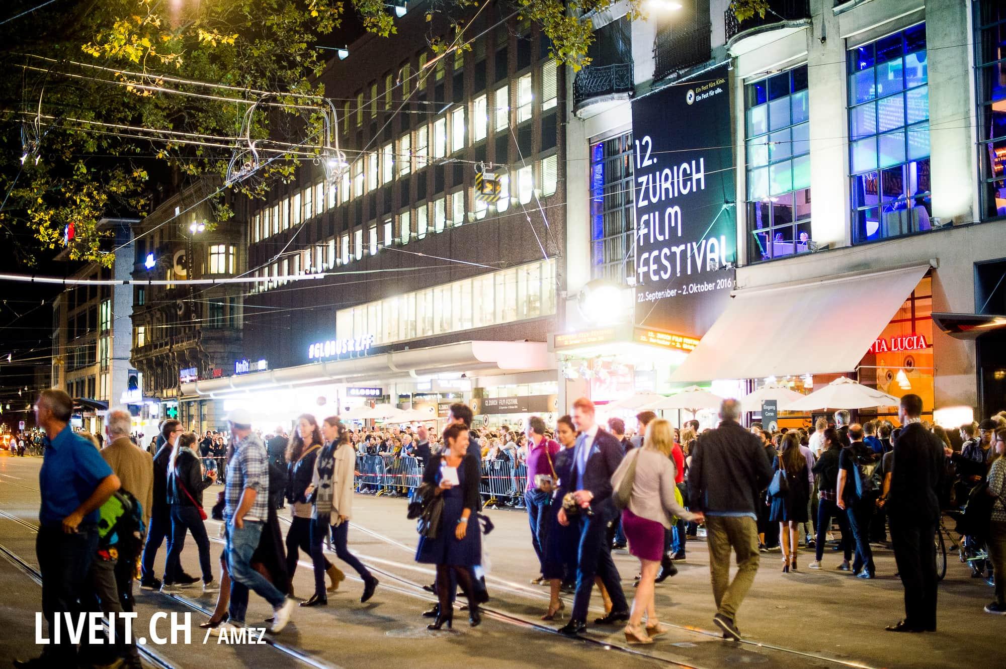 Roter Teppich mit Daniel Radcliffe am Zürich Film Festiva