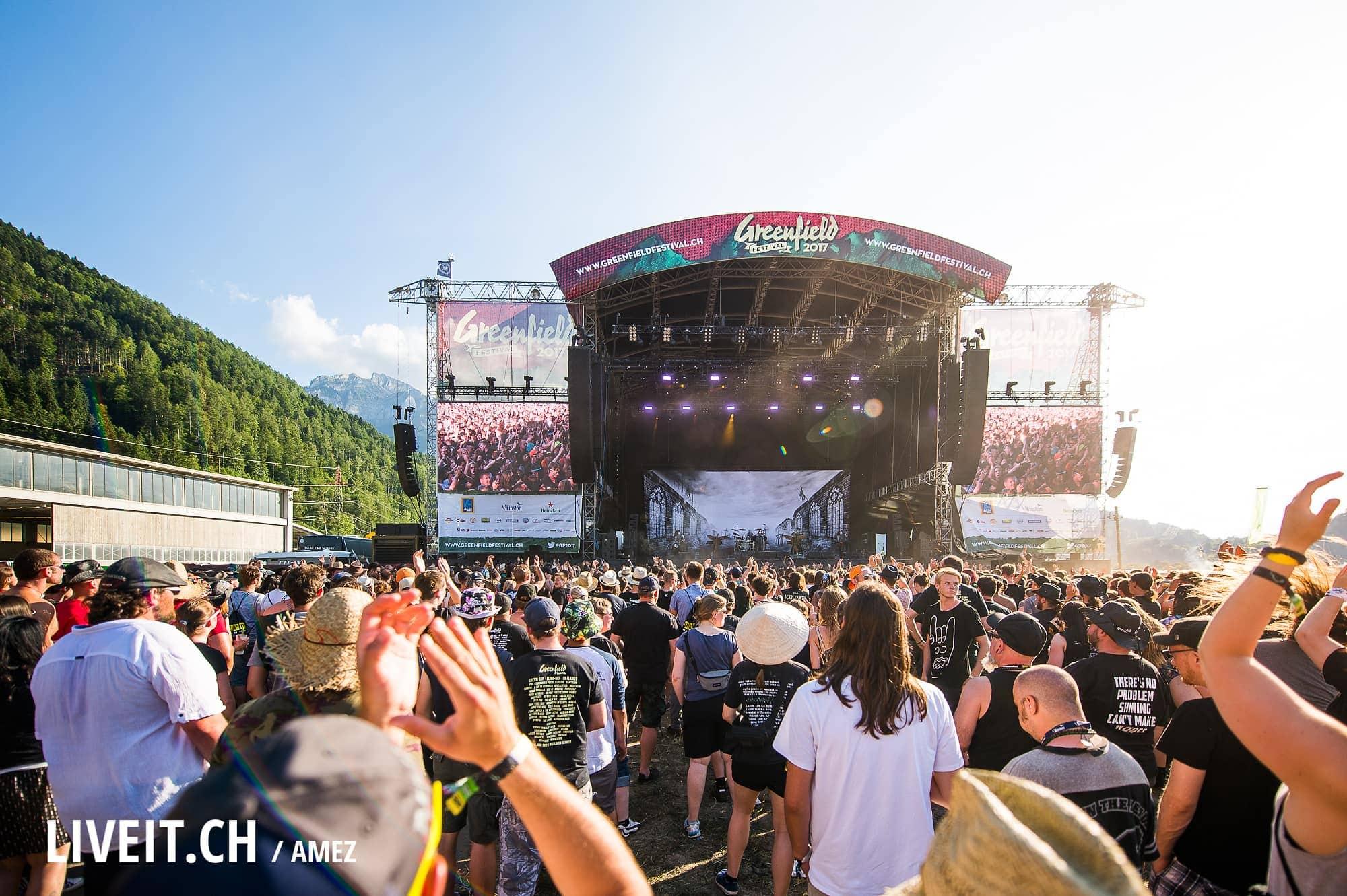 SCHWEIZ GREENFIELD FESTIVAL 2017
