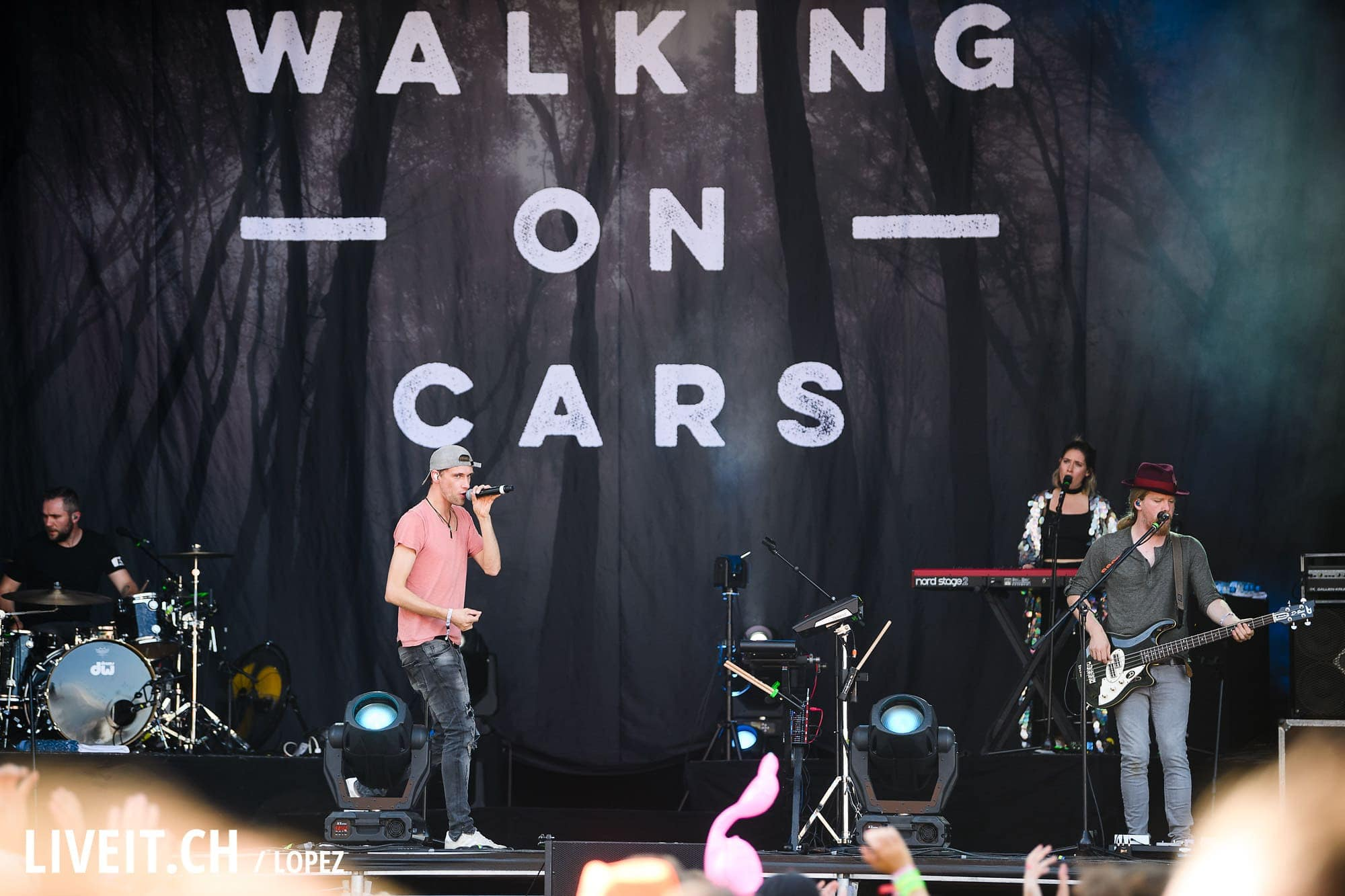 Walking On Cars an Open Air Gampel 2017
