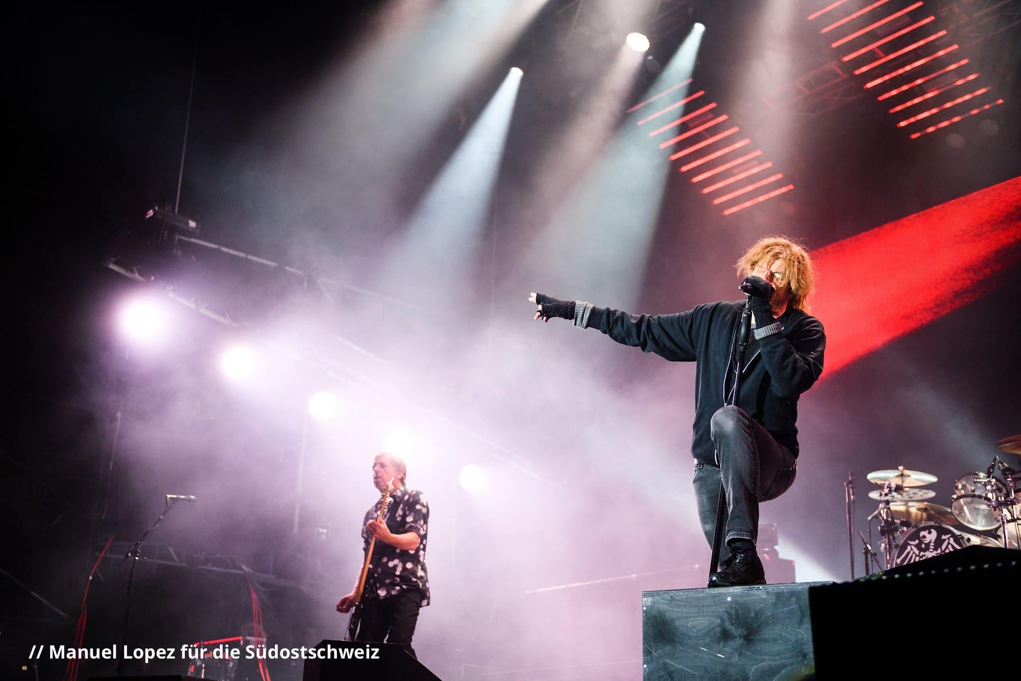Die Toten Hosen an Open Air Gampel 2017