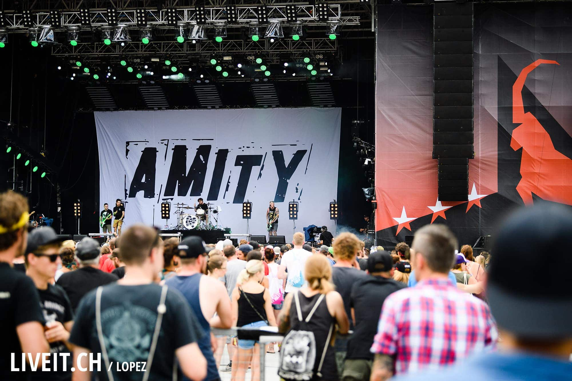 The Amity Affliction an Open Air Gampel 2017