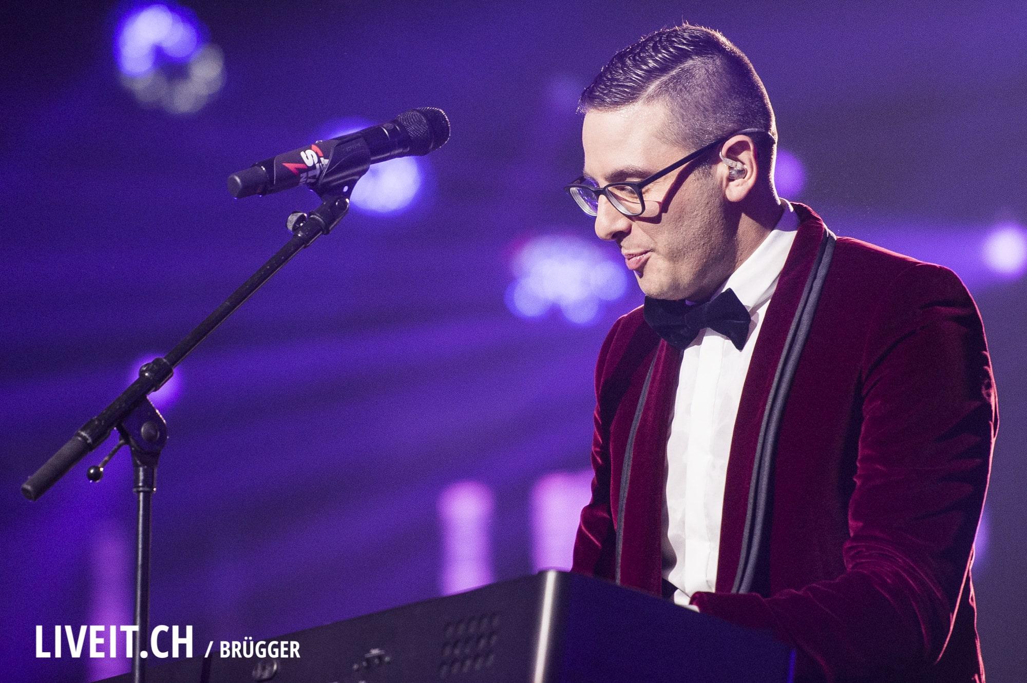Luca Hänni an der Energy Star Night 2017