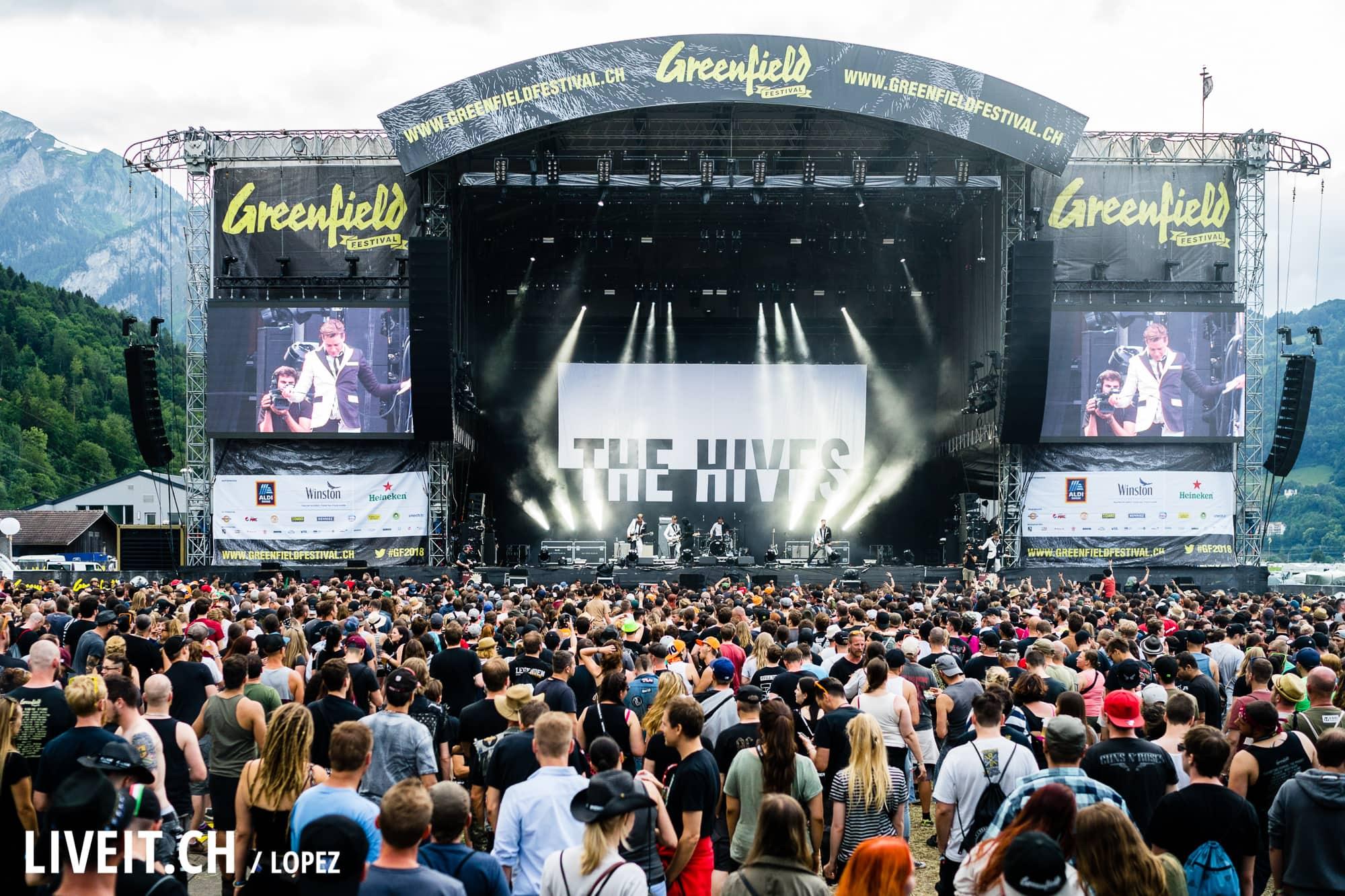SCHWEIZ GREENFIELD FESTIVAL 2018