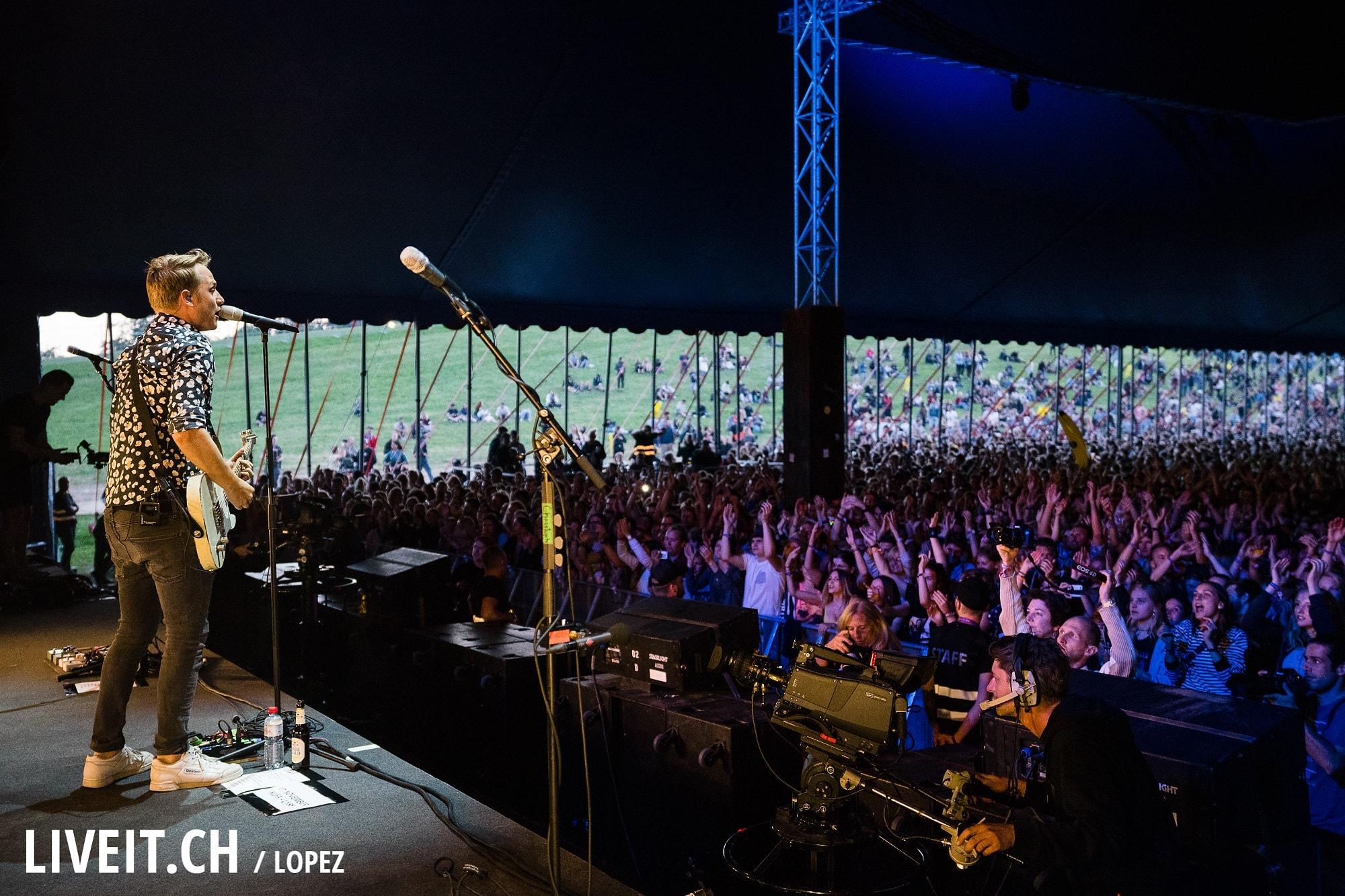 Hecht fotografiert am Gurtenfestival 2018 in Bern. (Manuel Lopez for Gurtenfestival)