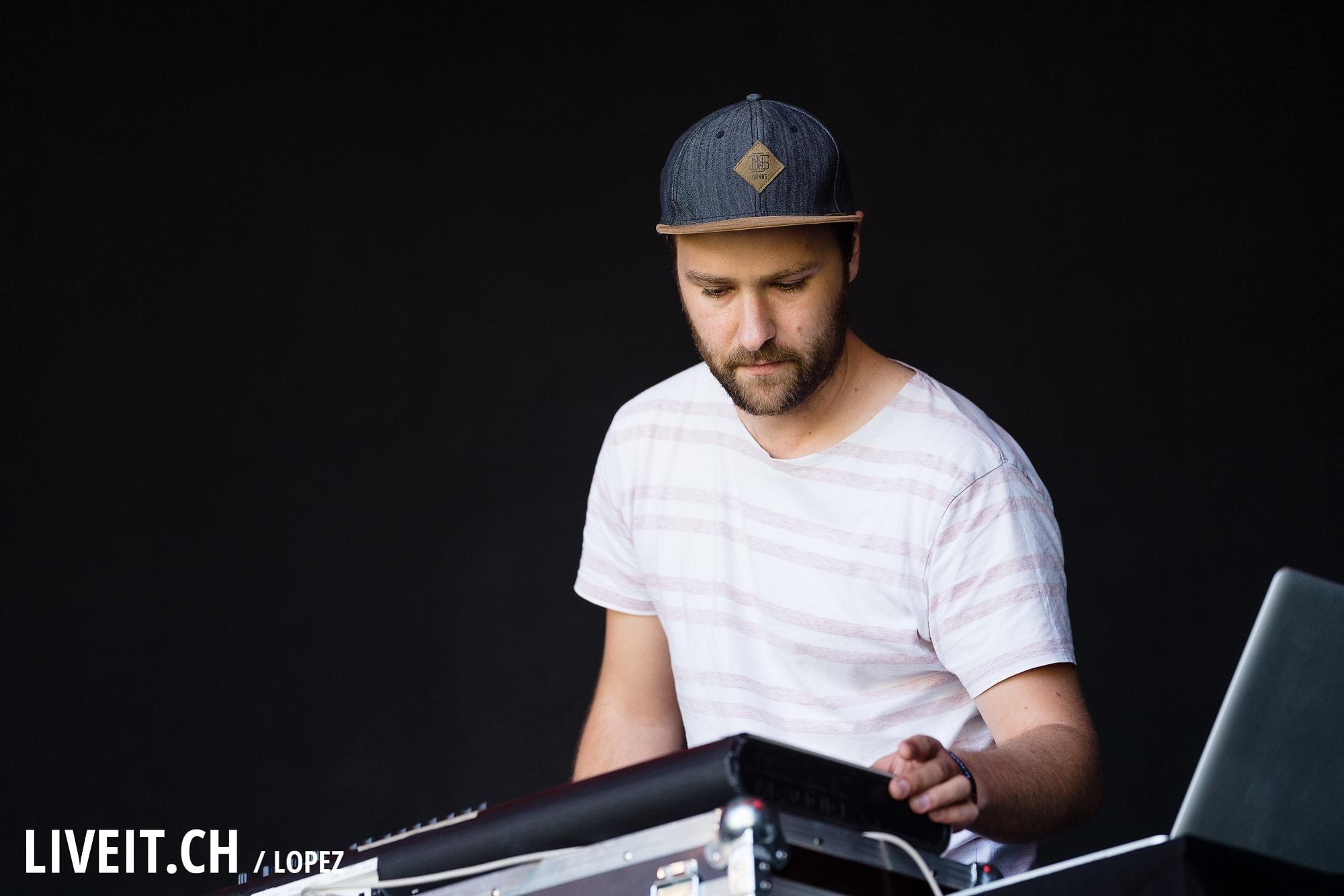 Ayu fotografiert am Gurtenfestival 2018 in Bern. (Manuel Lopez for Gurtenfestival)