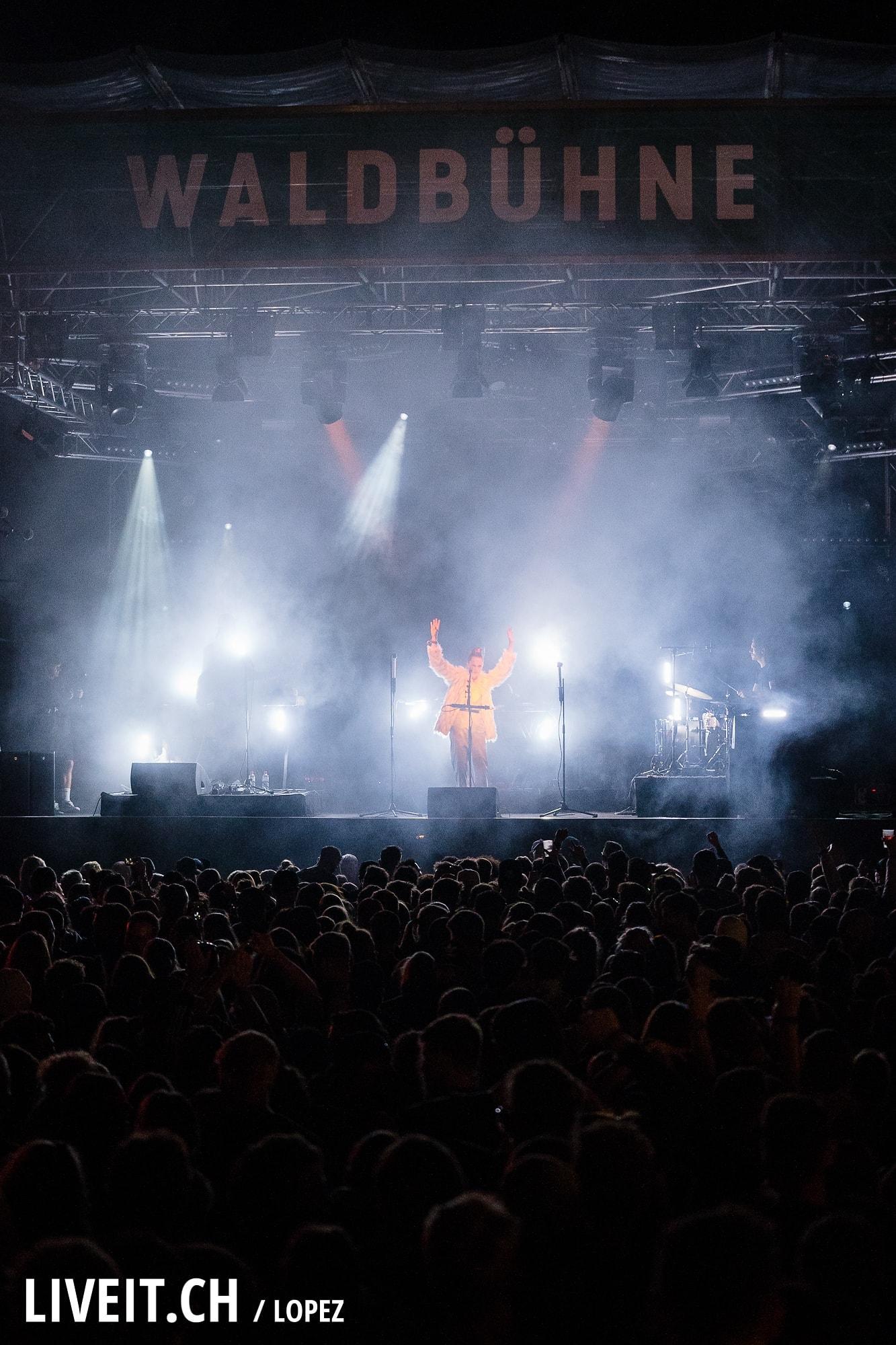 Pablo Nouvelle fotografiert am Gurtenfestival 2018 in Bern. (Manuel Lopez for Gurtenfestival)
