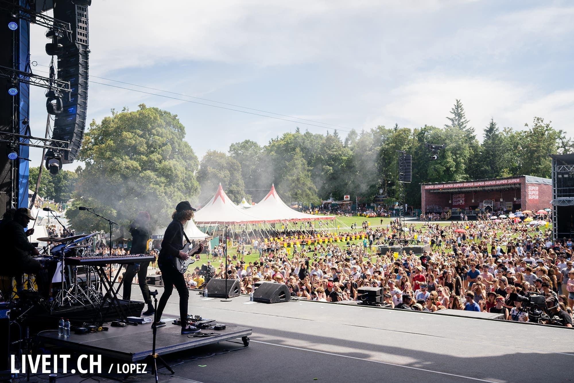 Jacob Banks fotografiert am Gurtenfestival 2018 in Bern. (Manuel Lopez for Gurtenfestival)