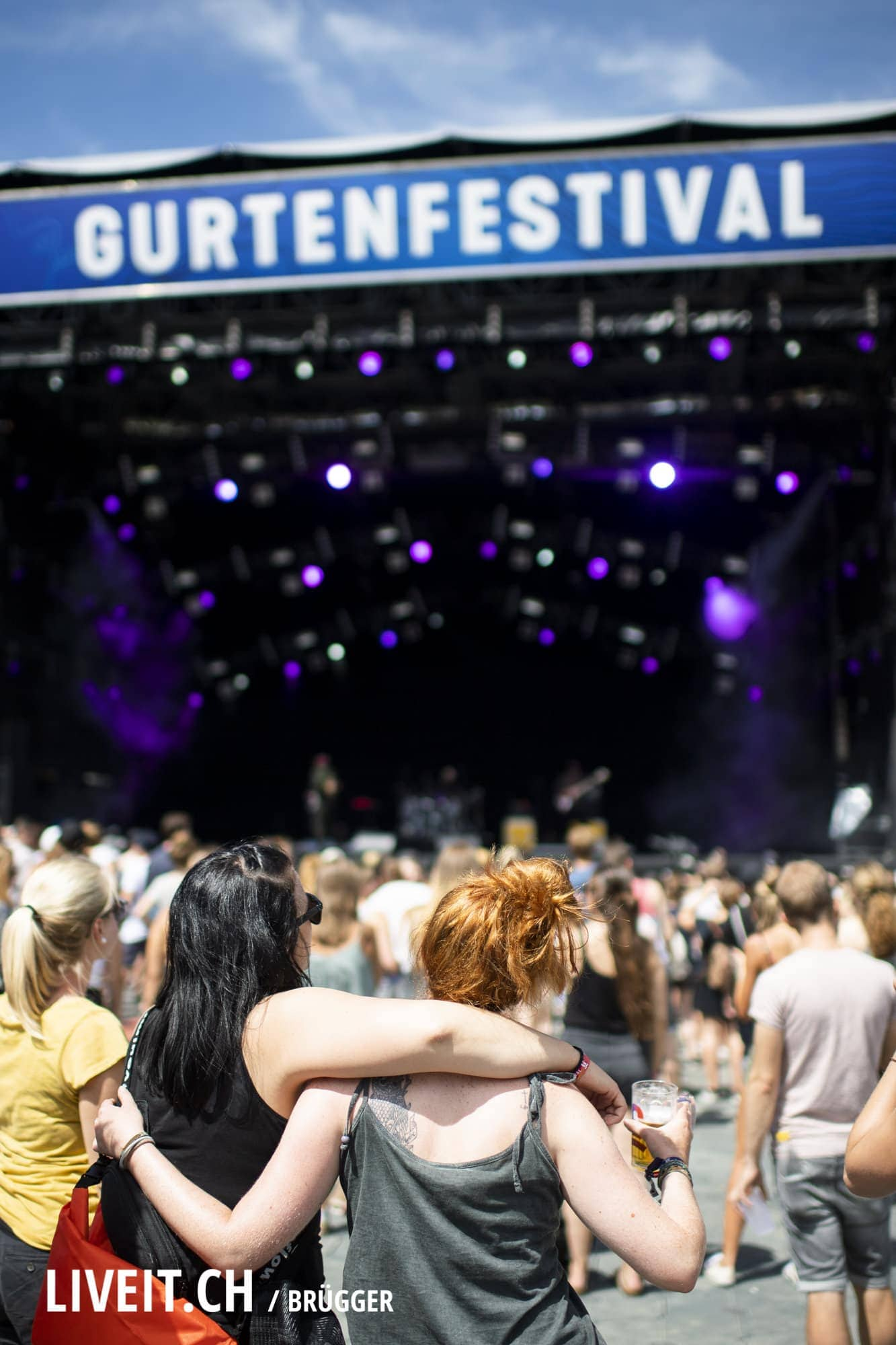 Jacob Banks Gurtenfestival 2018 in Bern. (Dominic Bruegger for Gurtenfestival)