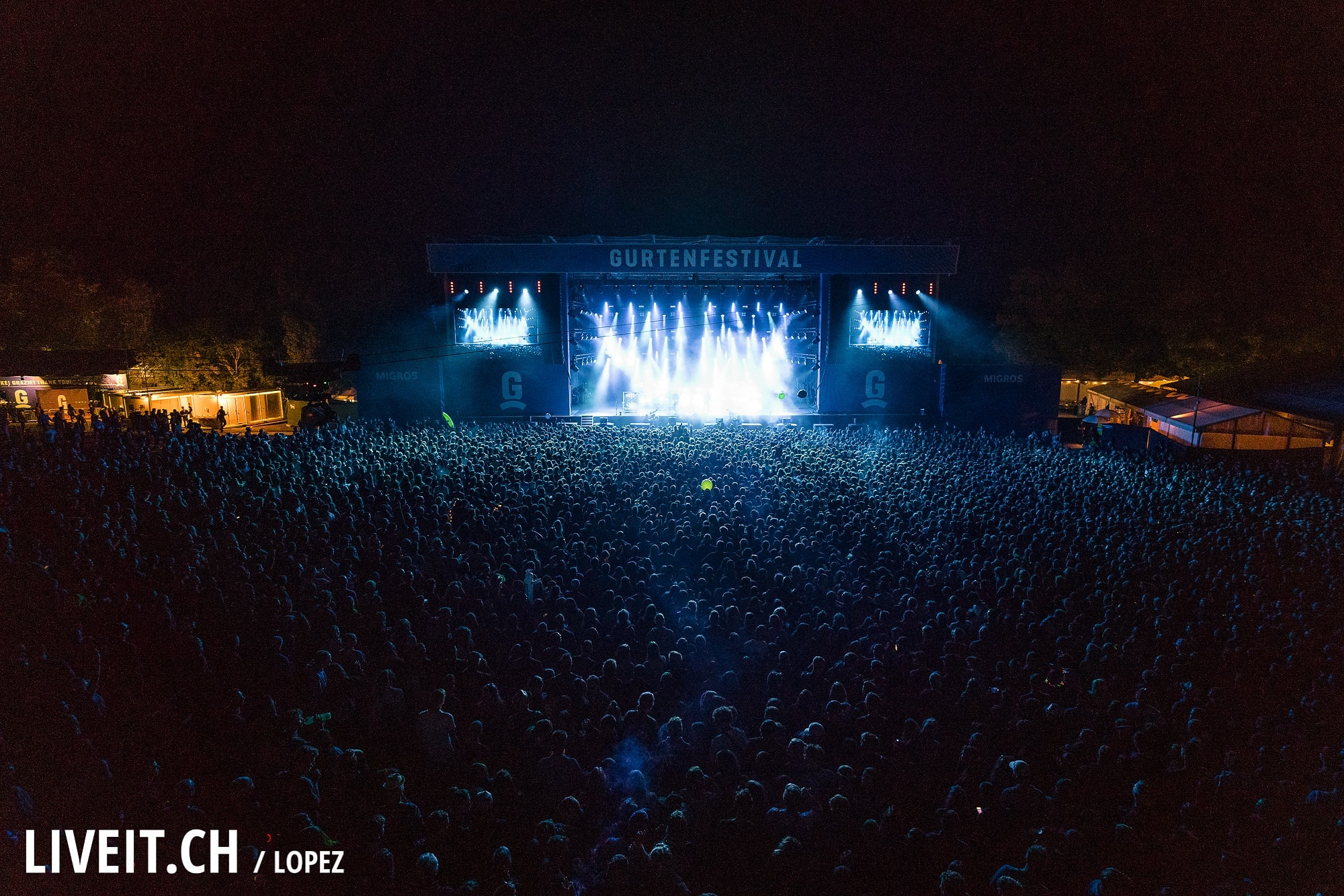 Milky Chance fotografiert am Gurtenfestival 2018 in Bern. (Manuel Lopez for Gurtenfestival)