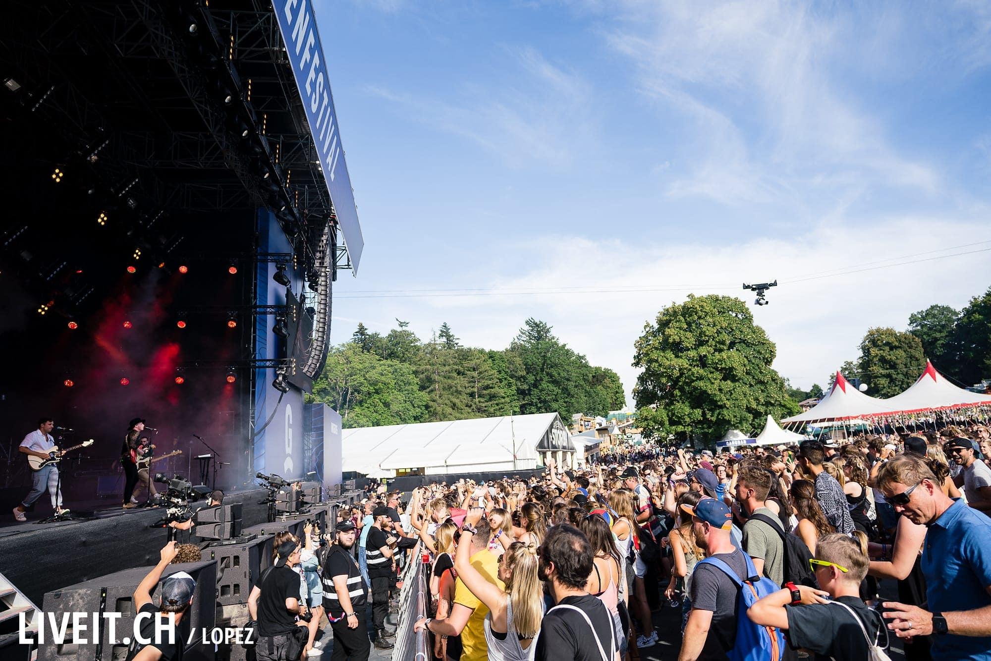 Two Door Cinema Club fotografiert am Gurtenfestival 2018 in Bern. (Manuel Lopez for Gurtenfestival)