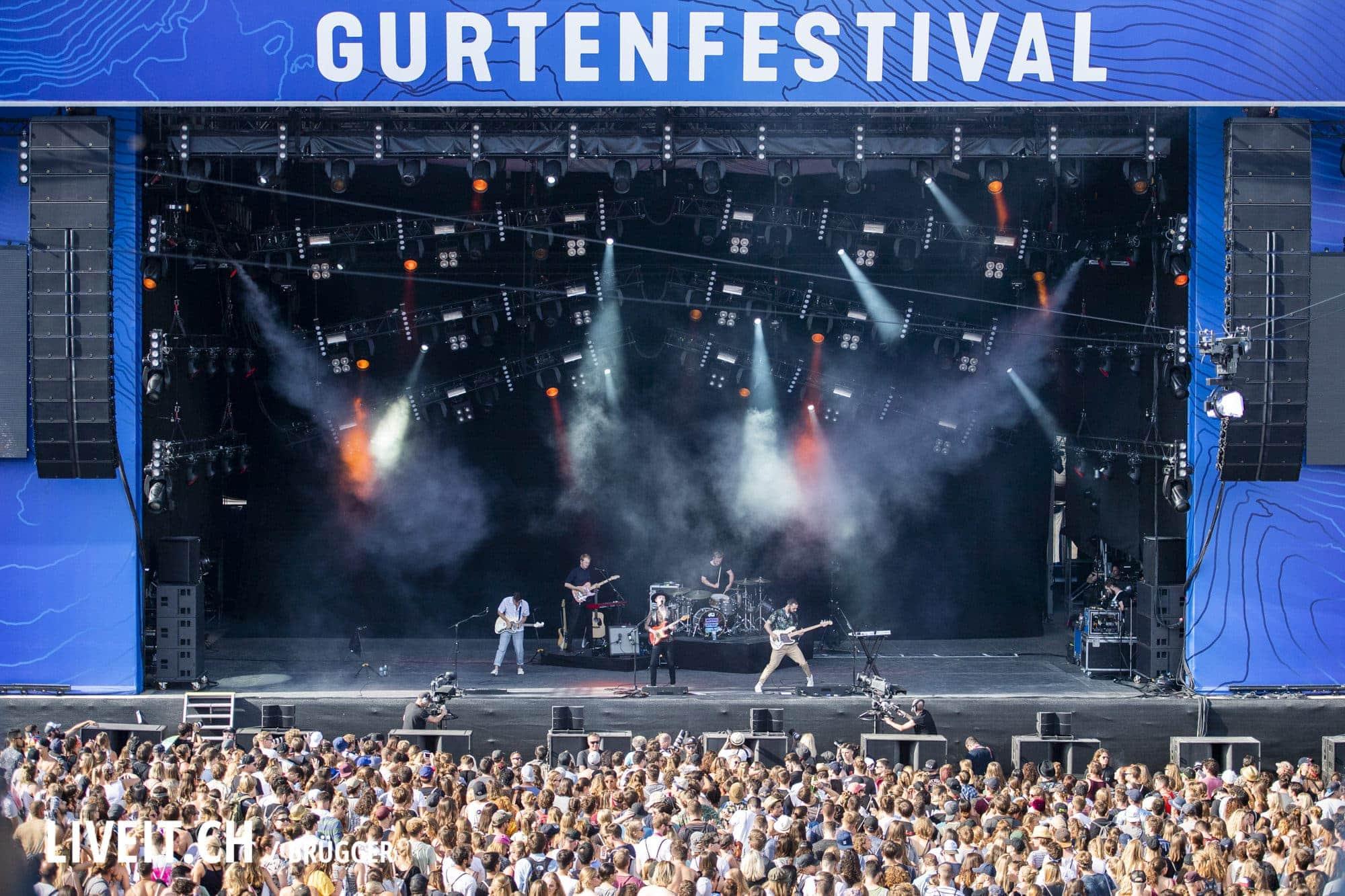 Two Door Cinema Club Gurtenfestival 2018 in Bern. (Dominic Bruegger for Gurtenfestival)