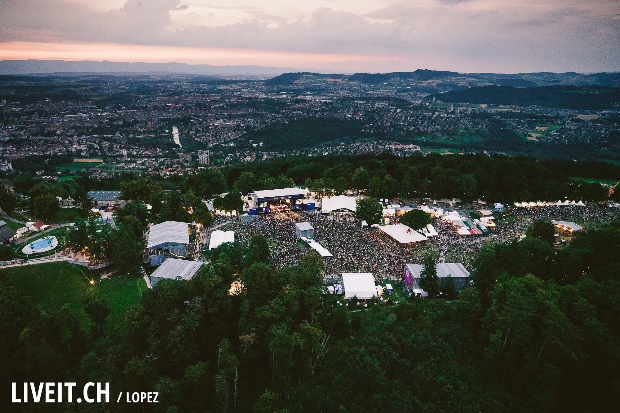 Mø fotografiert am Gurtenfestival 2018 in Bern. (Manuel Lopez for Gurtenfestival)