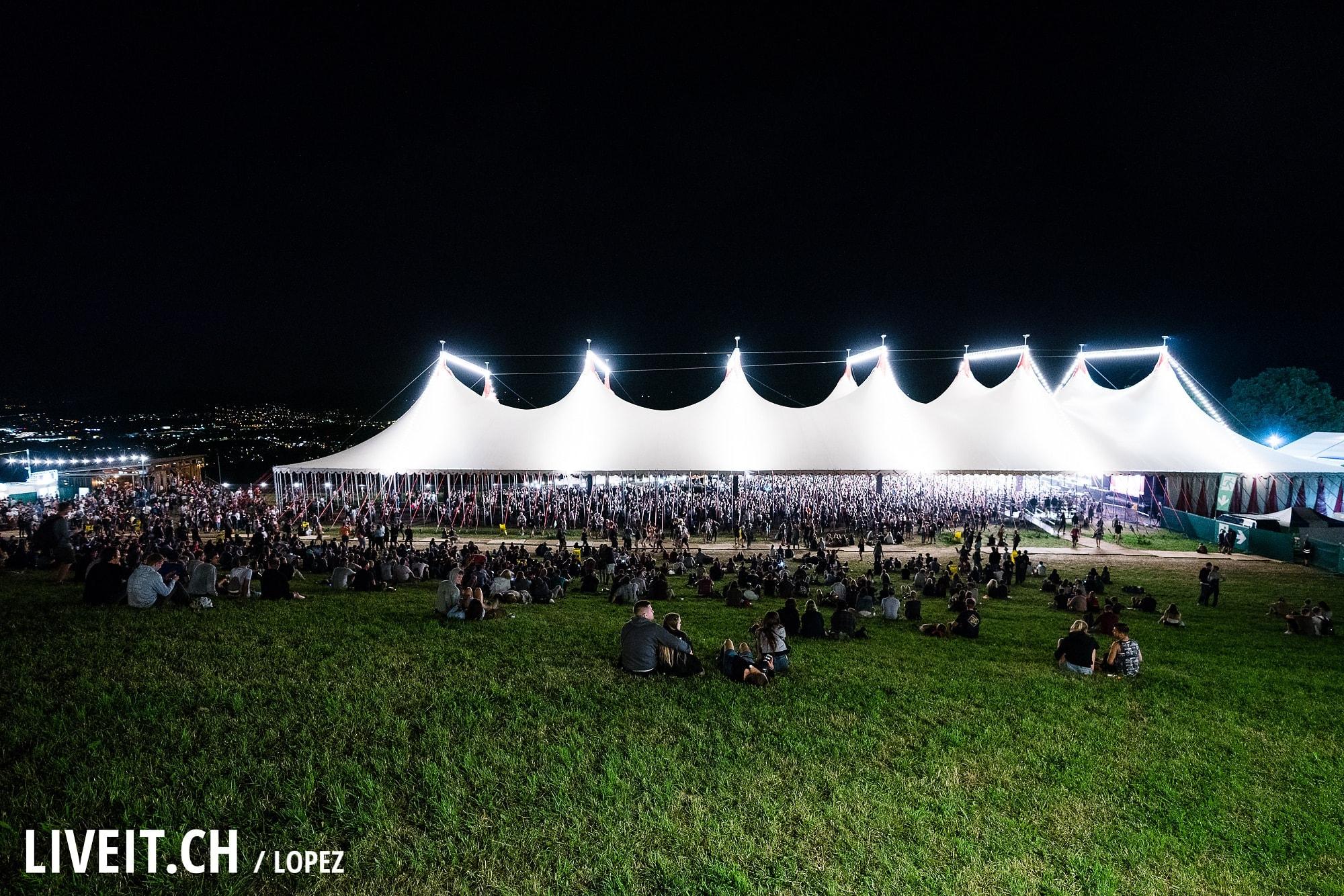 Plan B fotografiert am Gurtenfestival 2018 in Bern. (Manuel Lopez for Gurtenfestival)