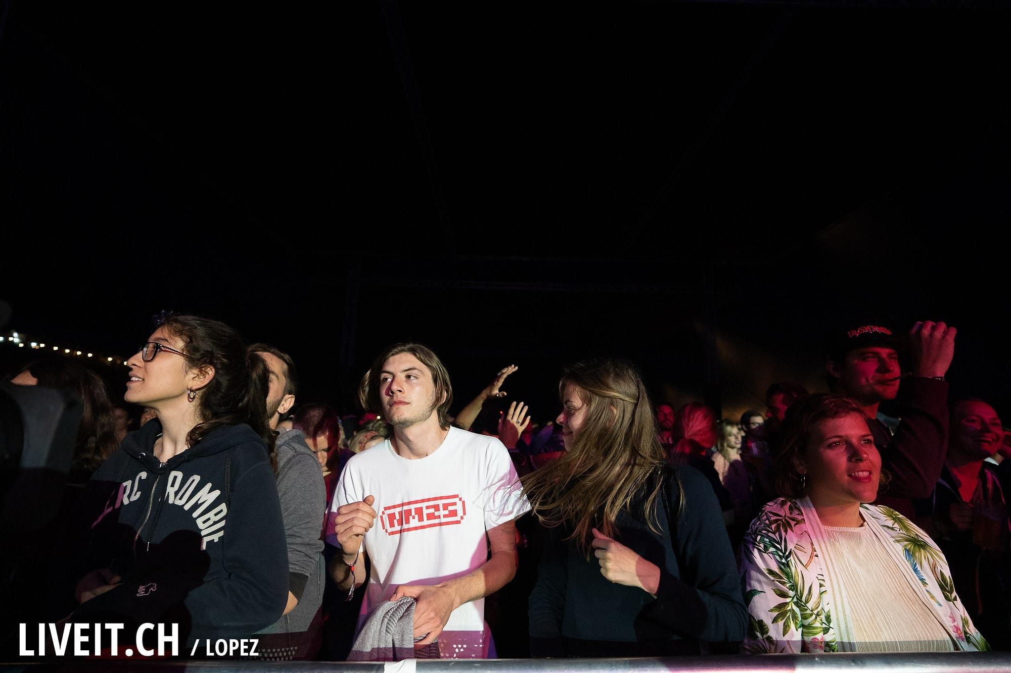 Confidence Man fotografiert am Gurtenfestival 2018 in Bern. (Manuel Lopez for Gurtenfestival)