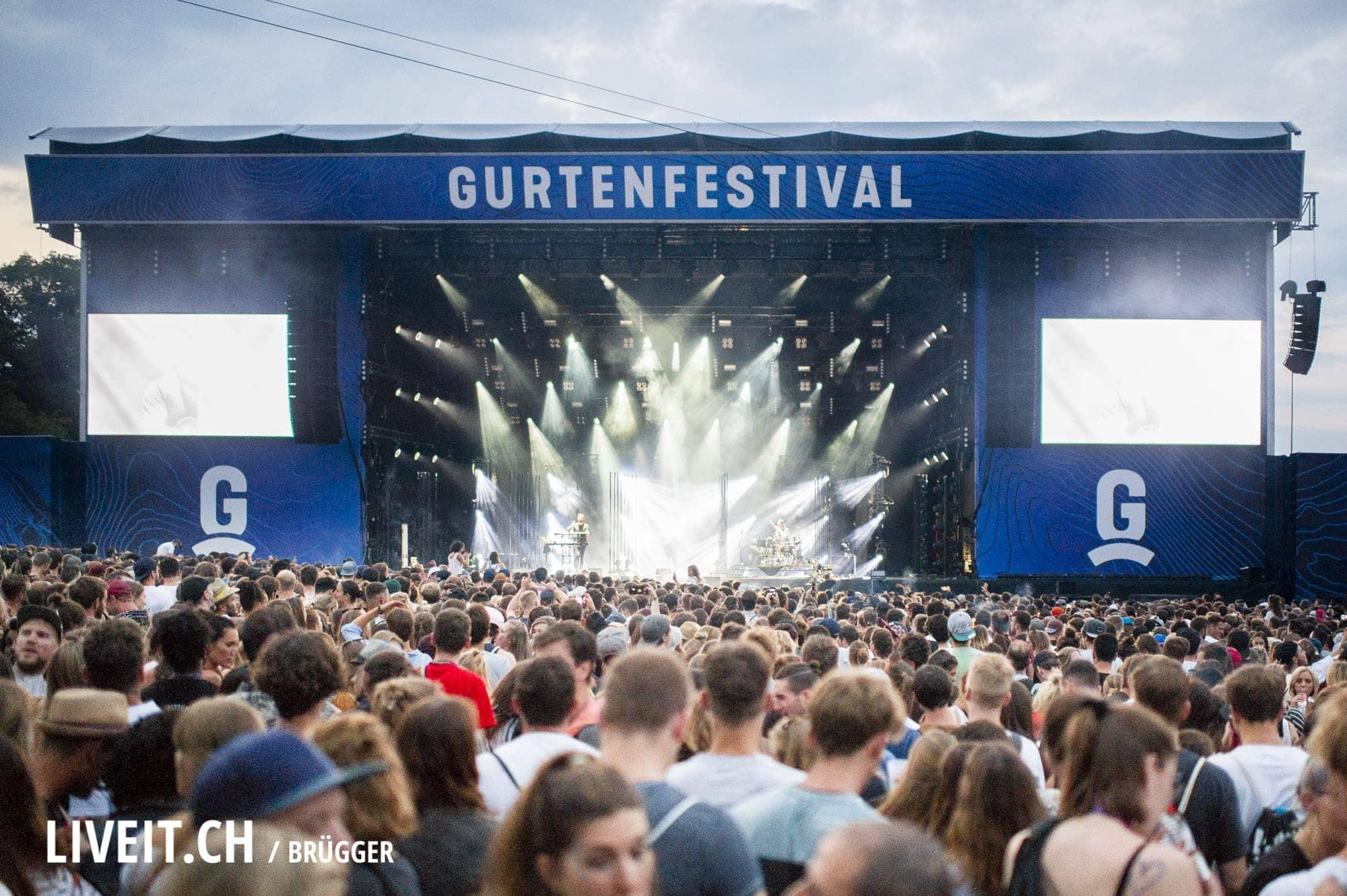 Alt-J Gurtenfestival 2018 in Bern. (Dominic Bruegger for Gurtenfestival)