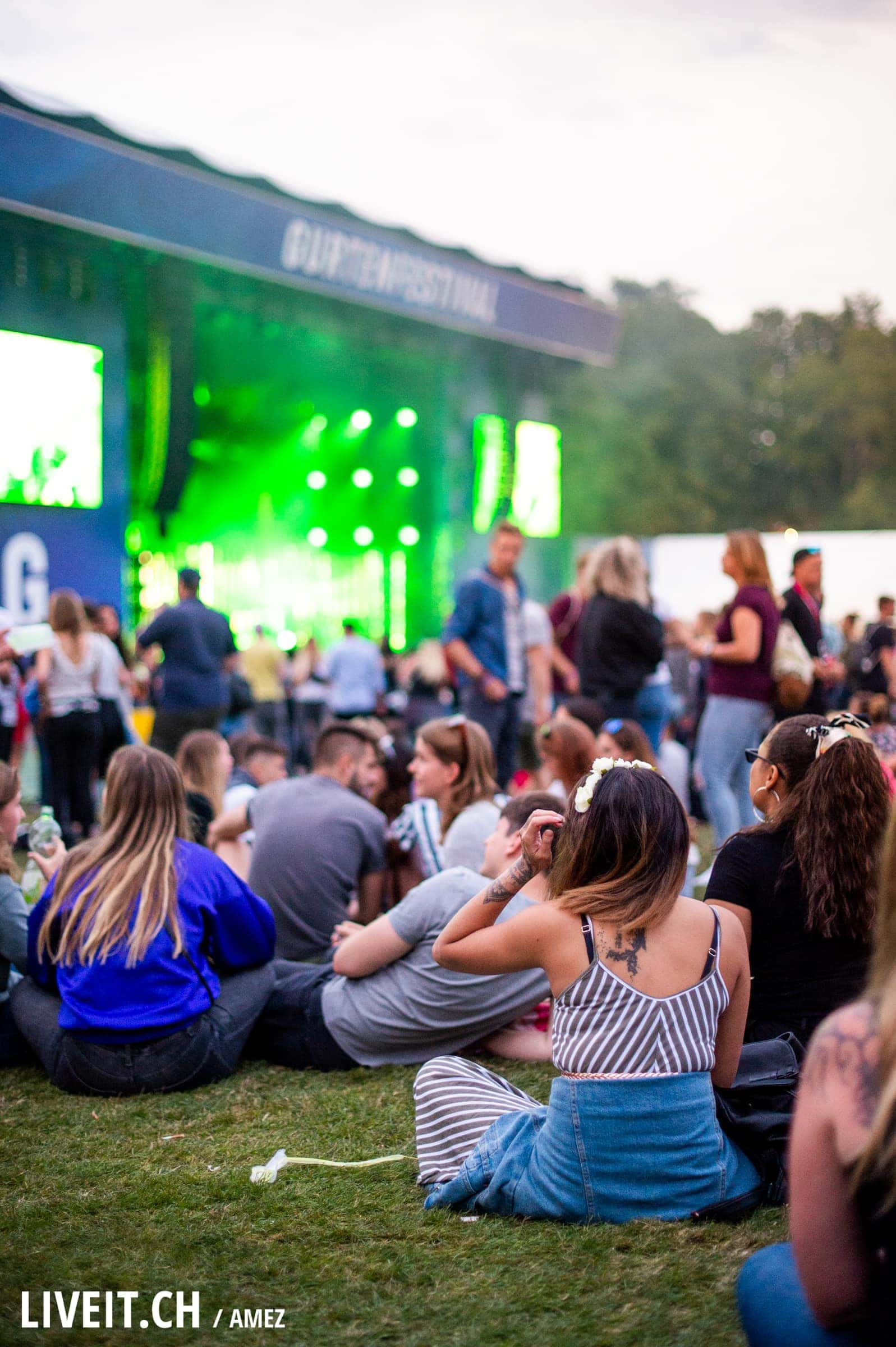 Alt-J fotografiert am Gurtenfestival 2018 in Bern. (Pascale Amez for Gurtenfestival)