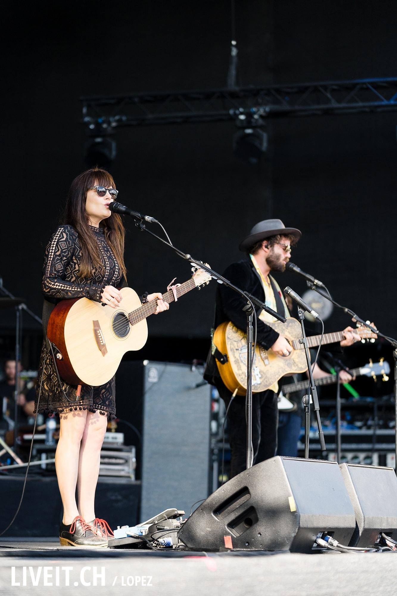 Angus & Julia Stone fotografiert am Gurtenfestival 2018 in Bern. (Manuel Lopez for Gurtenfestival)
