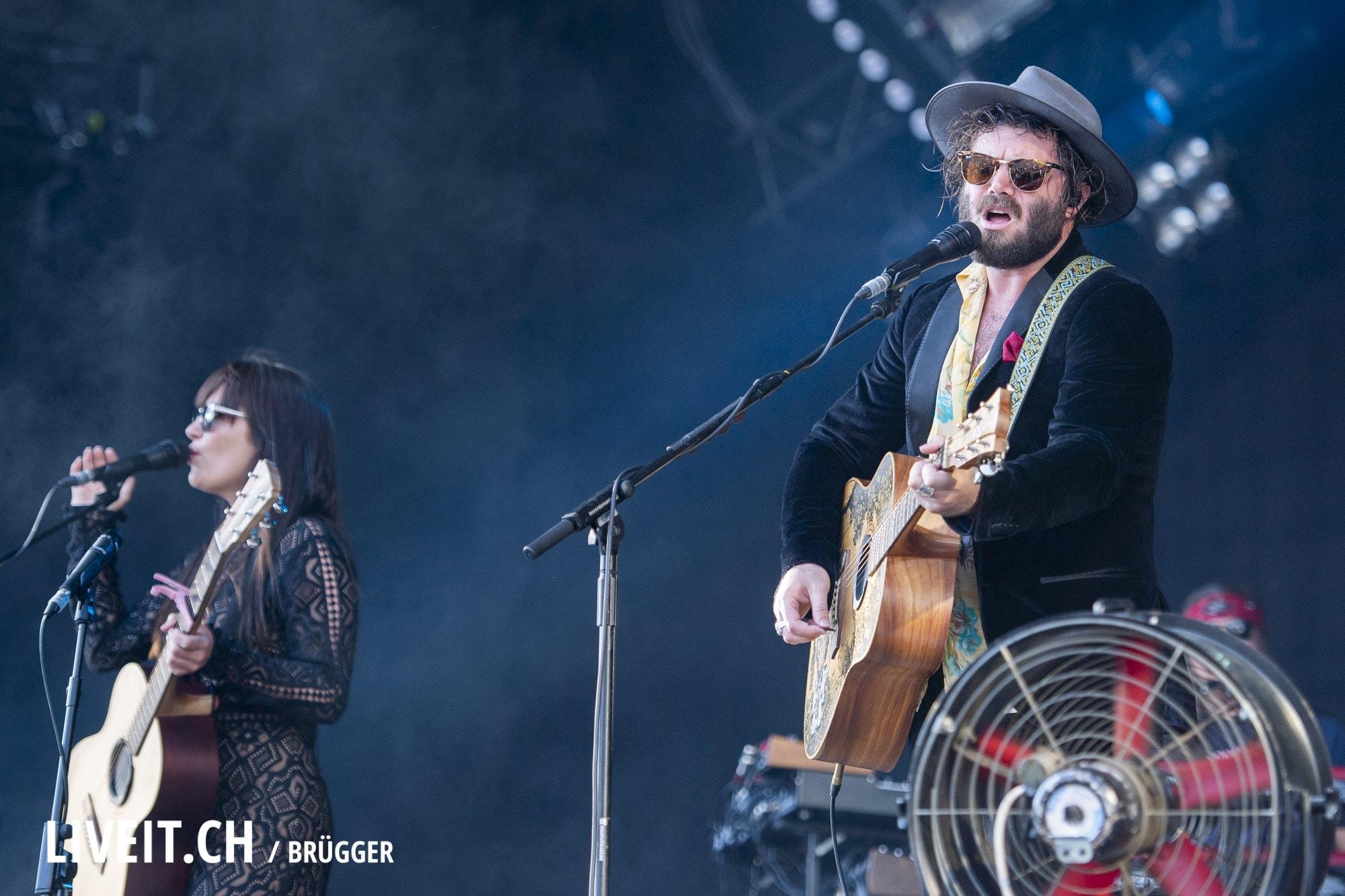Angus and Julia Stone Gurtenfestival 2018 in Bern. (Dominic Bruegger for Gurtenfestival)