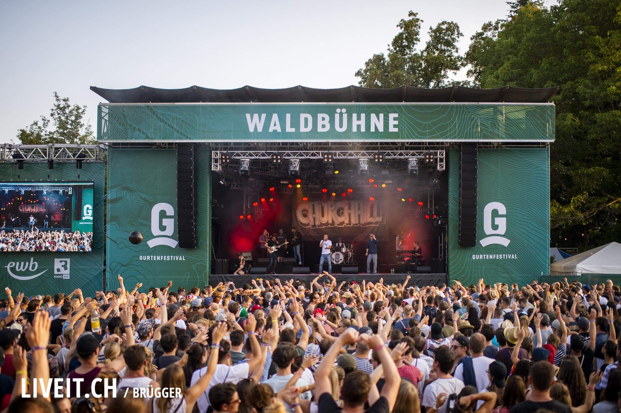 Churchhill Gurtenfestival 2018 in Bern. (Dominic Bruegger for Gurtenfestival)