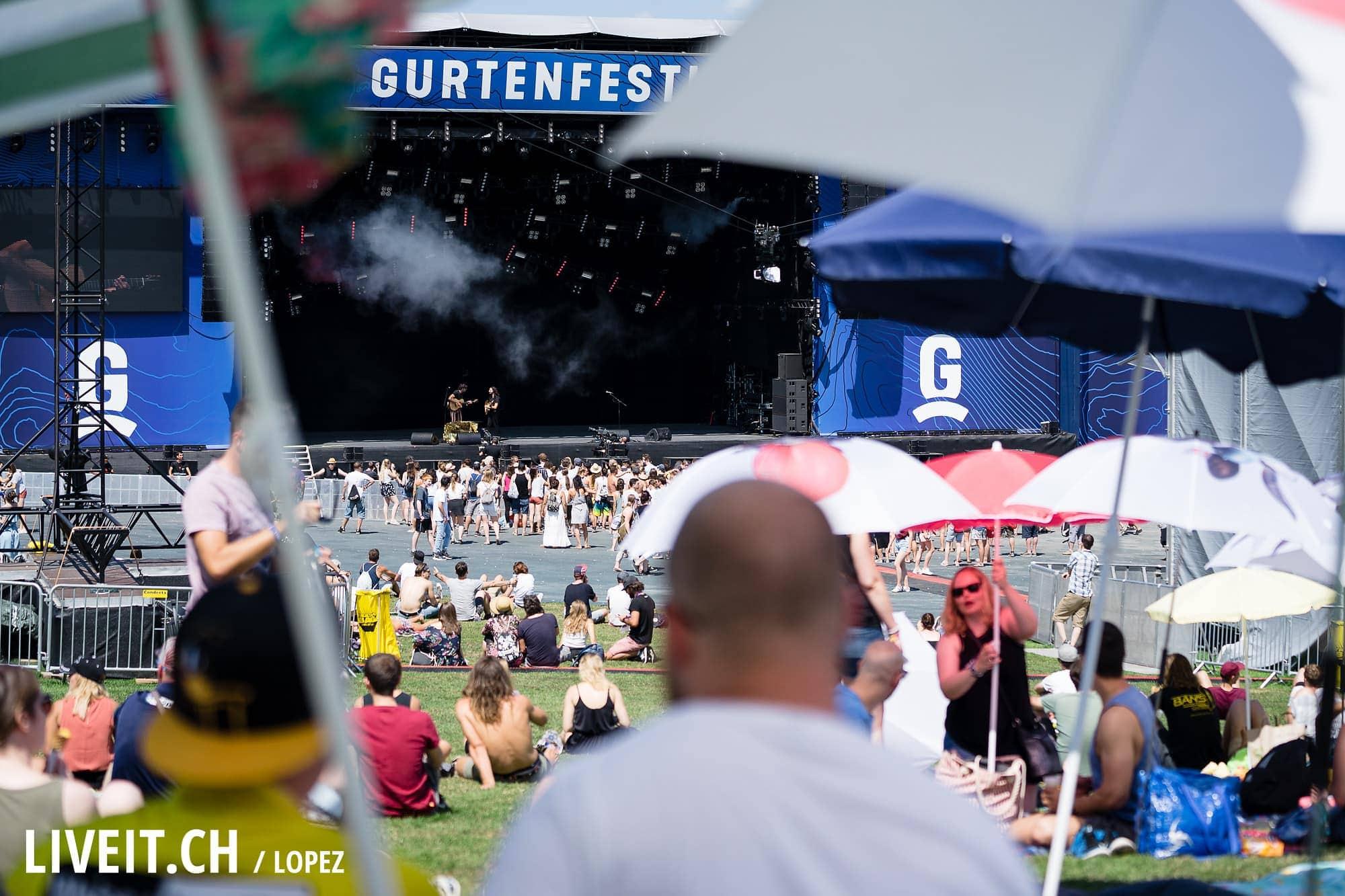 Opal Ocean fotografiert am Gurtenfestival 2018 in Bern. (Manuel Lopez for Gurtenfestival)