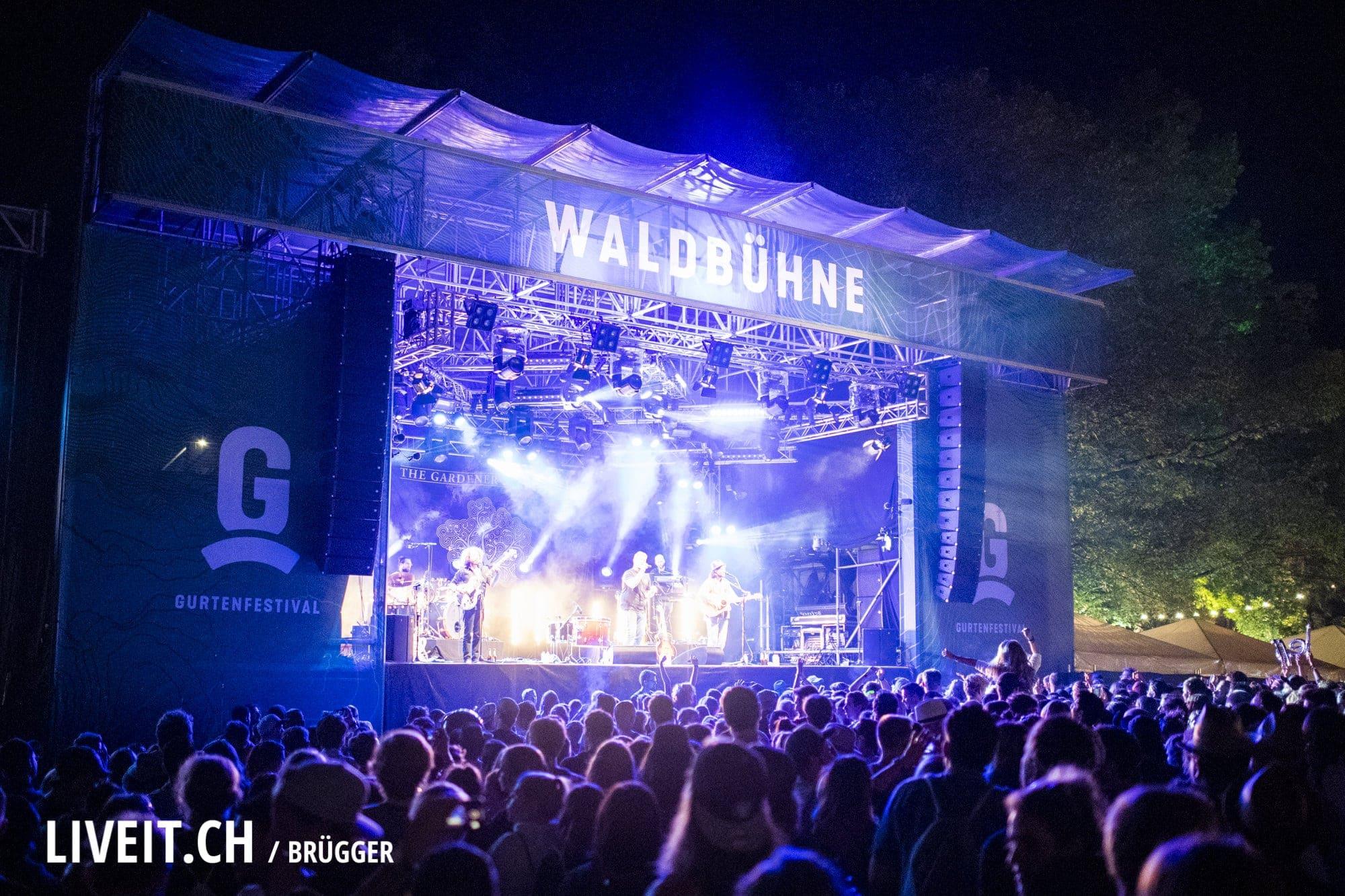 The Gardener & The Tree Gurtenfestival 2018 in Bern. (Dominic Bruegger for Gurtenfestival)