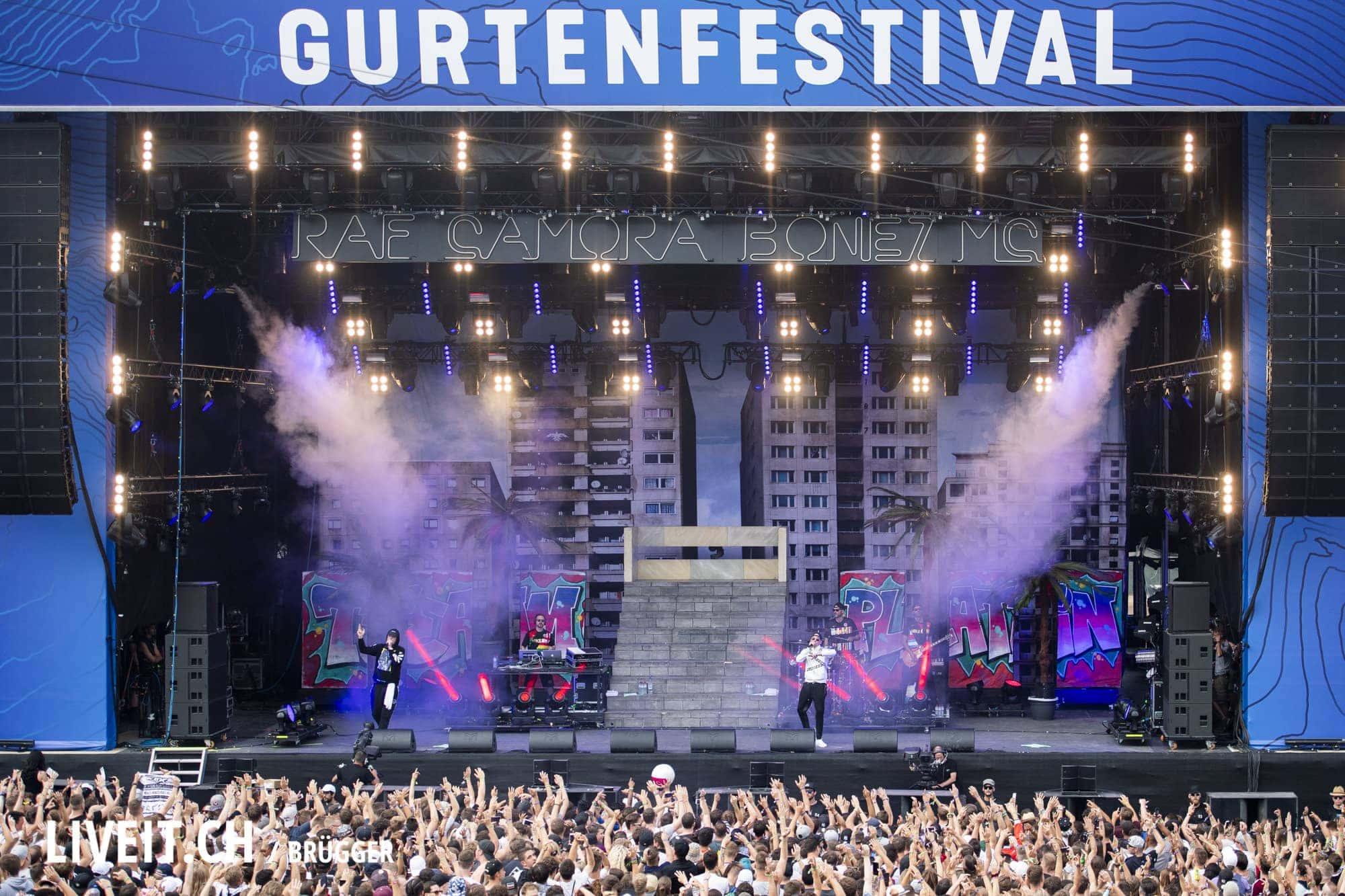 Bonez MC & RAF Camora Gurtenfestival 2018 in Bern. (Dominic Bruegger for Gurtenfestival)