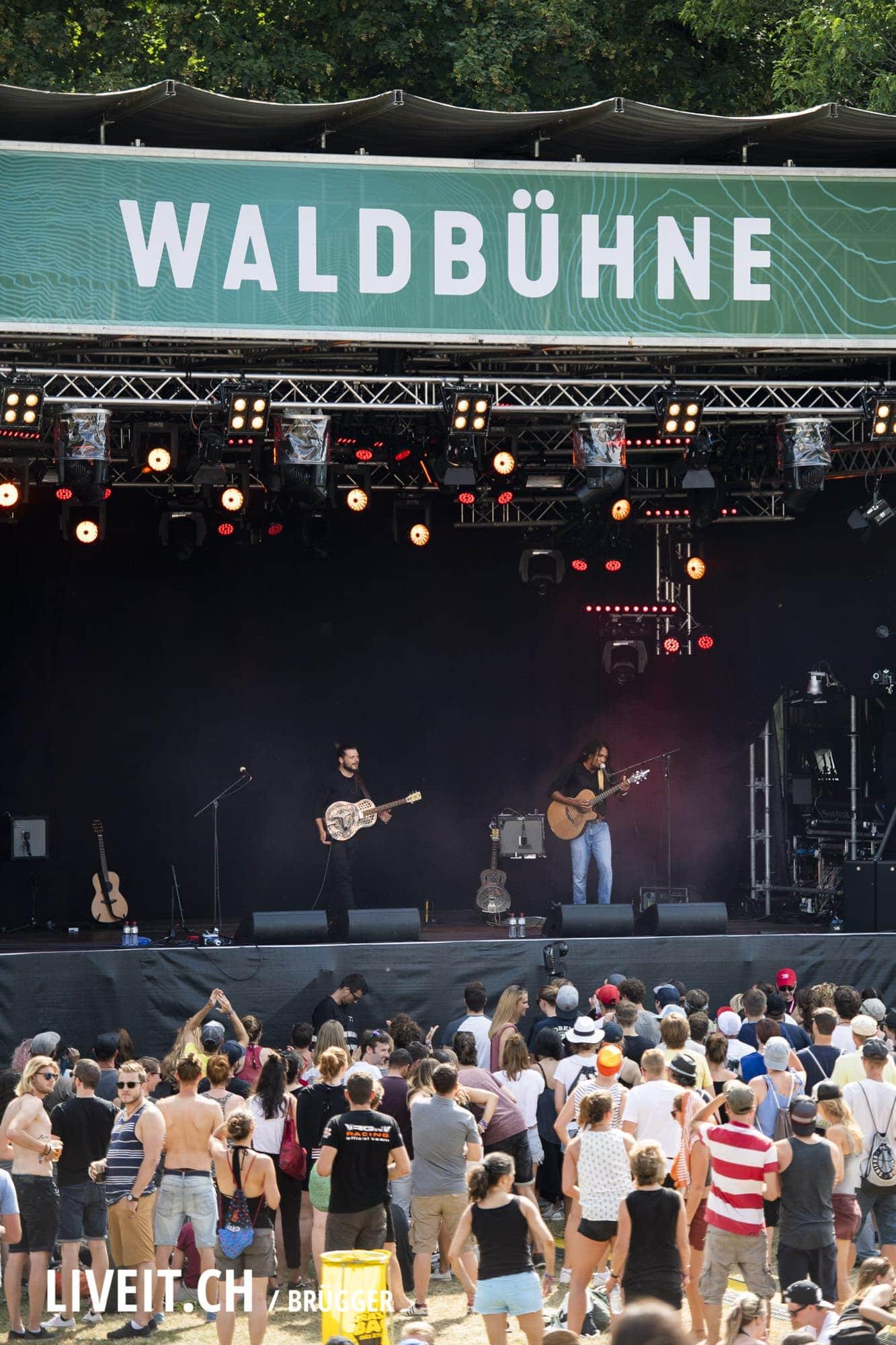 The Two Gurtenfestival 2018 in Bern. (Dominic Bruegger for Gurtenfestival)