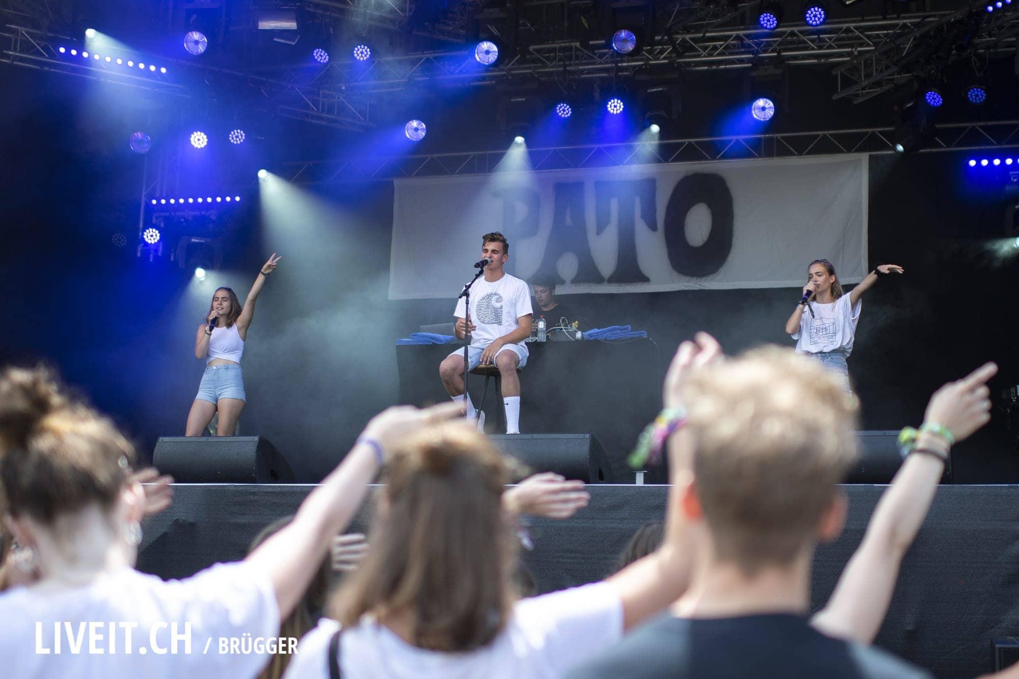 Pato Gurtenfestival 2018 in Bern. (Dominic Bruegger for Gurtenfestival)