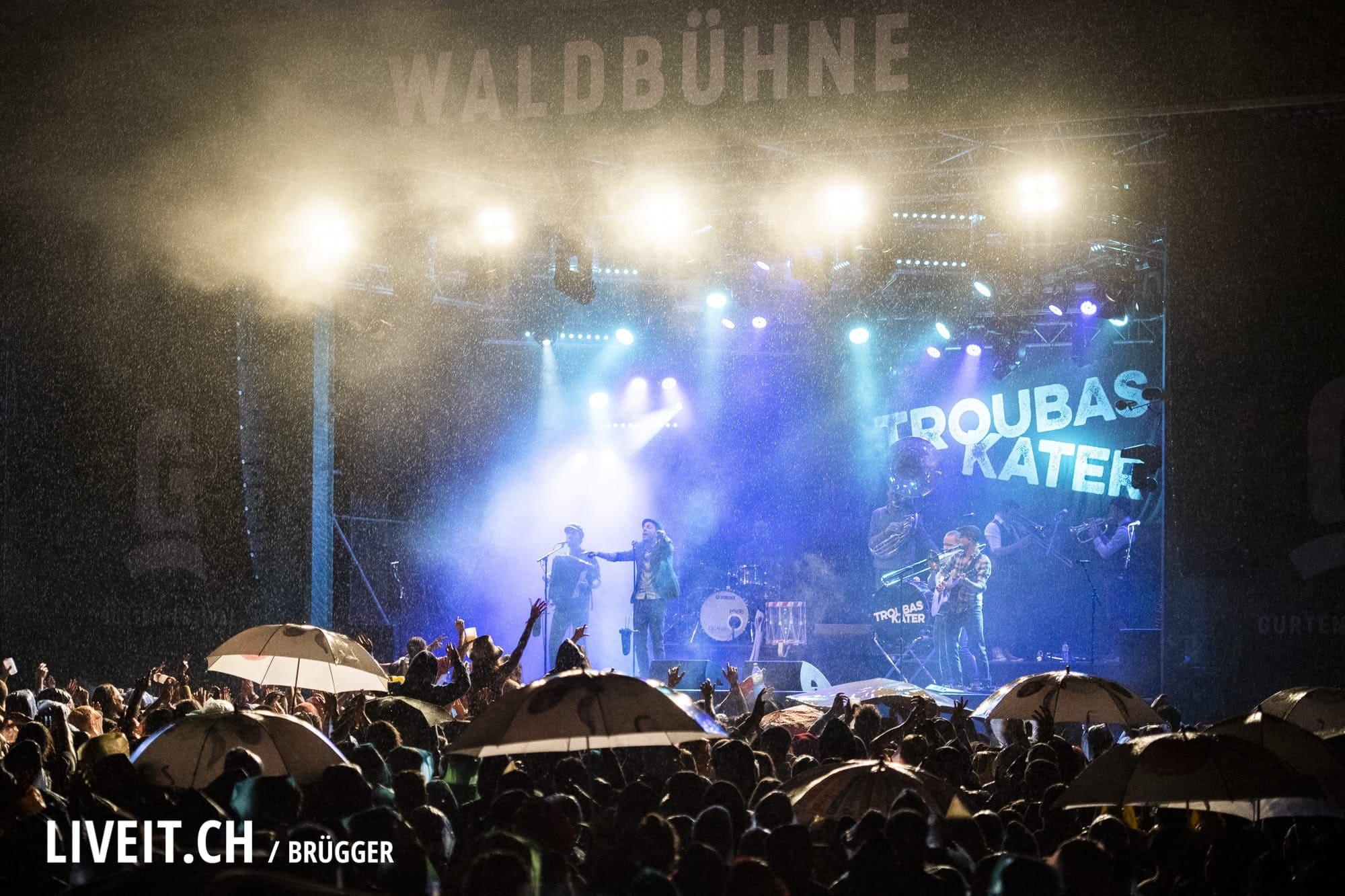 Troubas Kater Gurtenfestival 2018 in Bern. (Dominic Bruegger for Gurtenfestival)