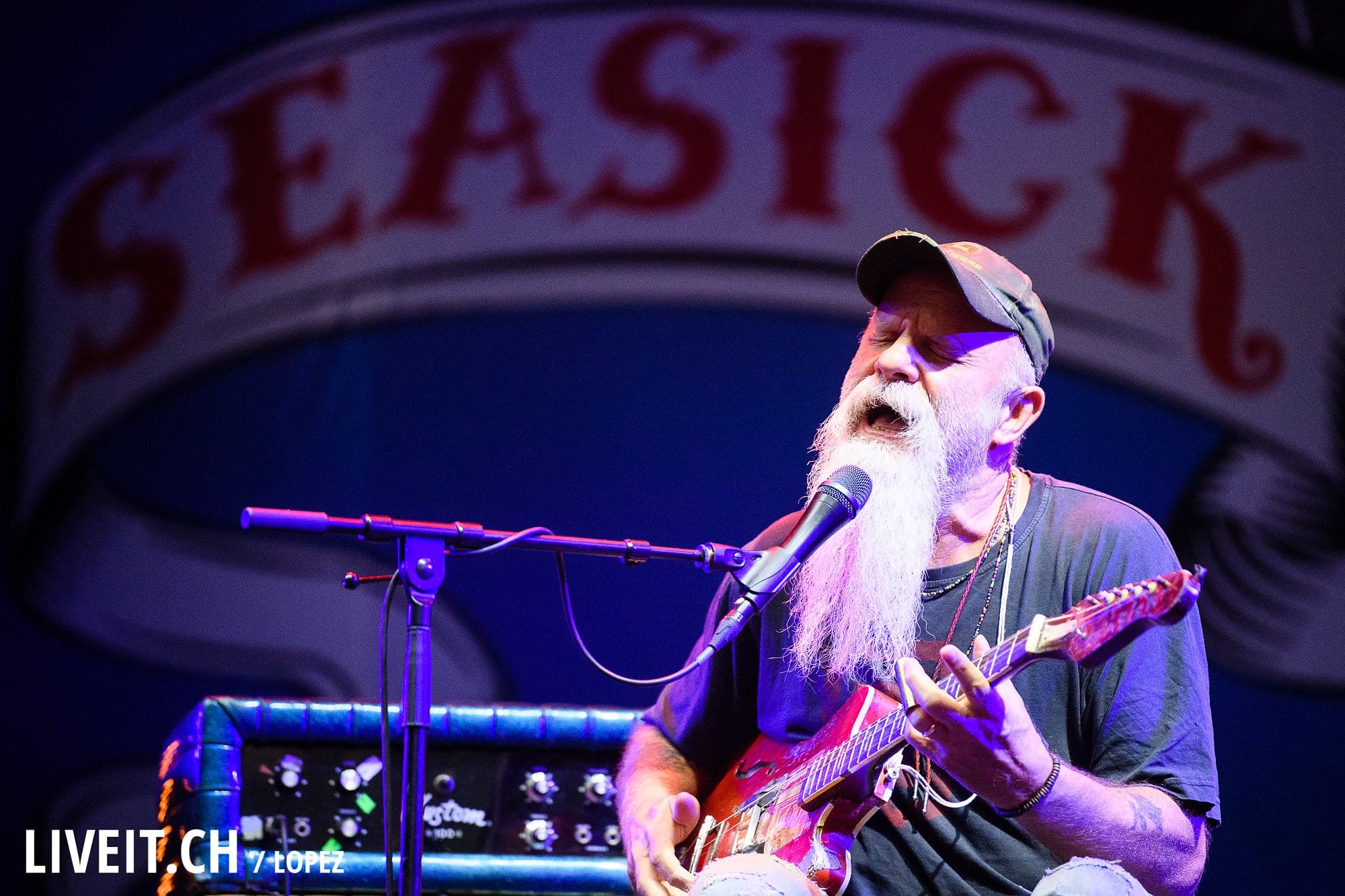 Seasick Steve an Open Air Gampel 2017
