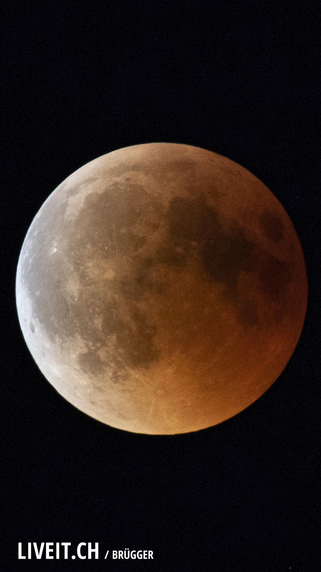 Blutmond 27.07.2018 am Hasliberg. (Dominic Bruegger Photography)