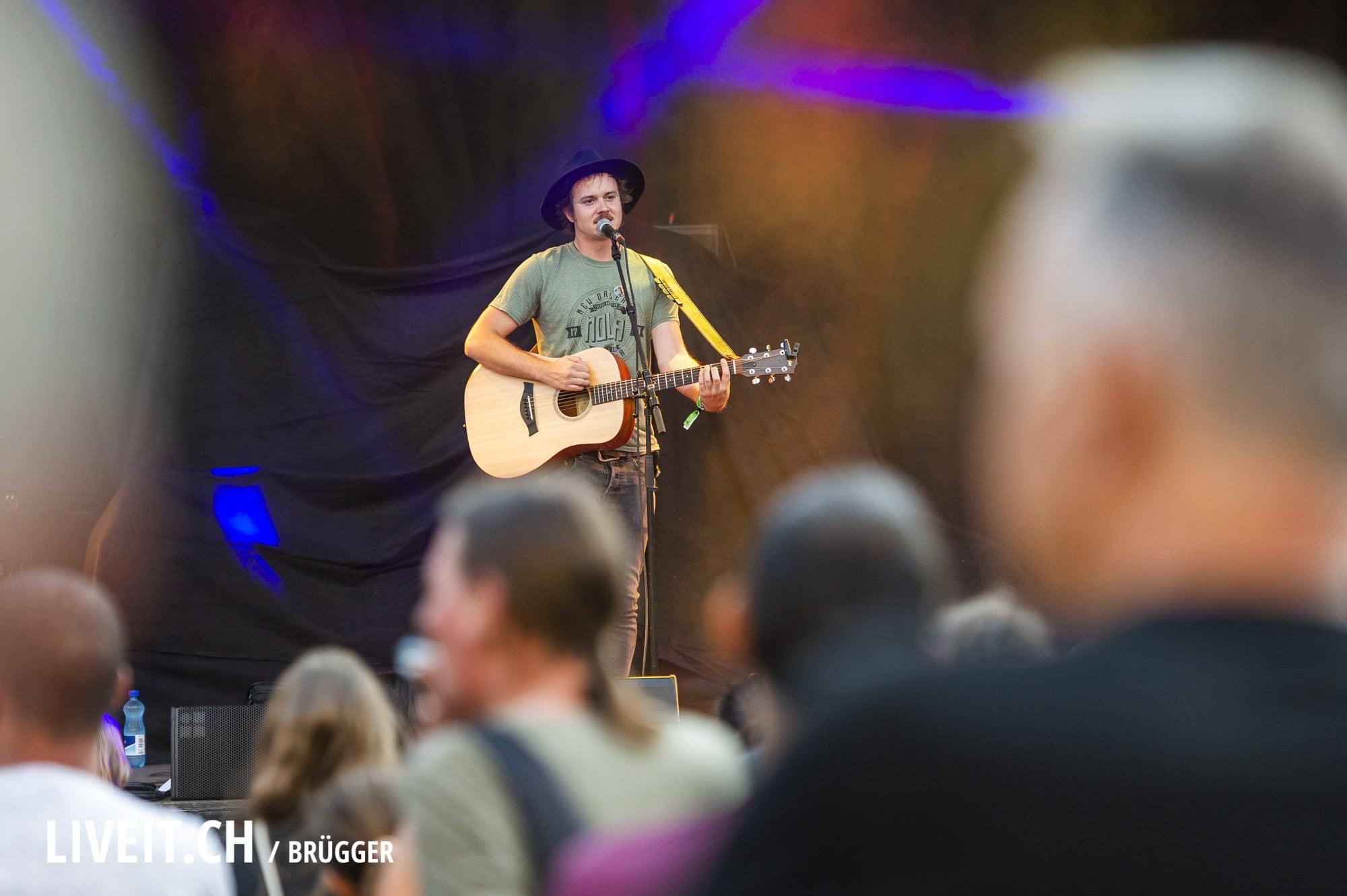 Josua Romano Thunfest 2018 in Thun. (Dominic Bruegger for liveit.ch)