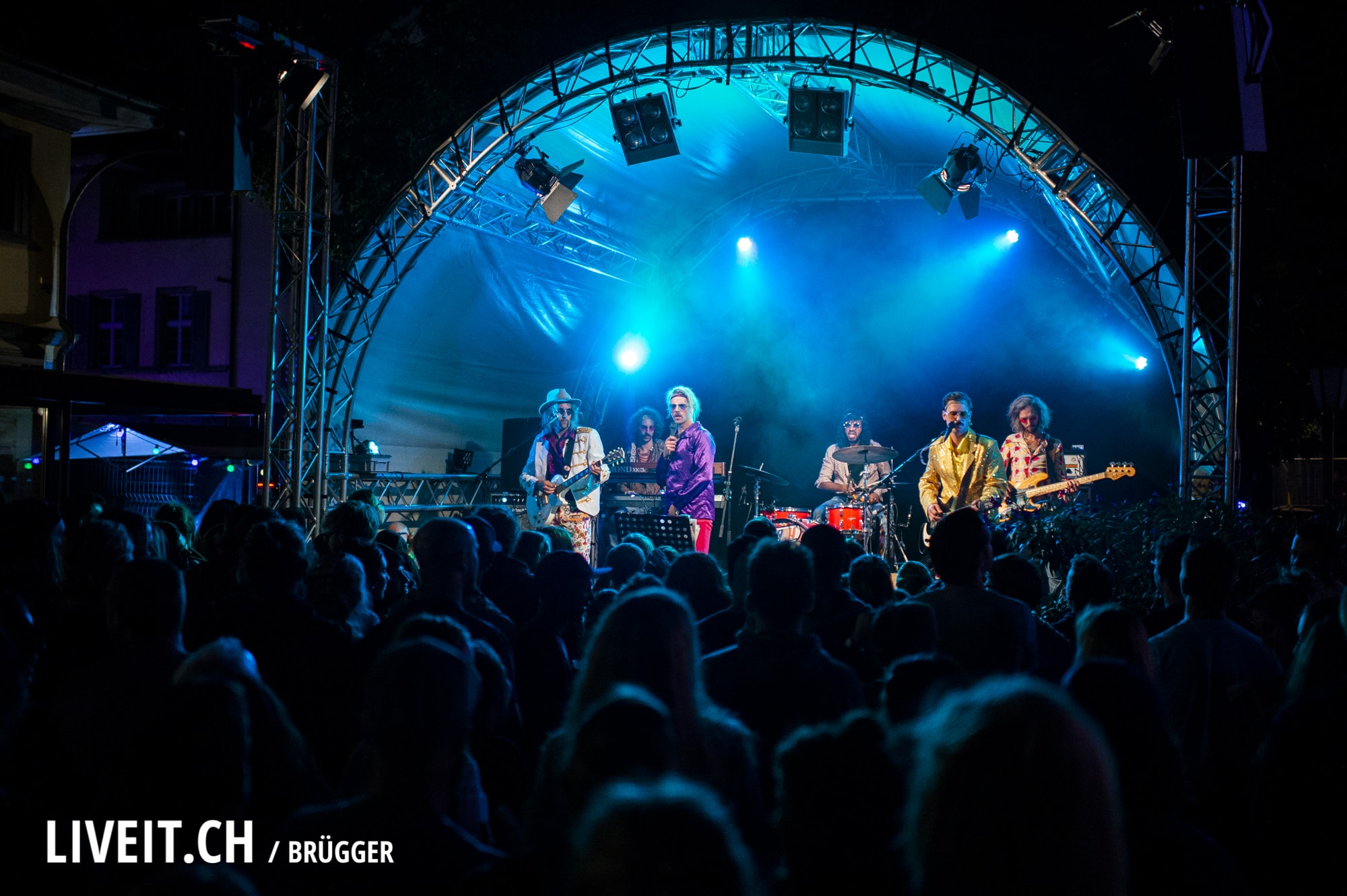 Ocean Orchestra Thunfest 2018 in Thun. (Dominic Bruegger for liveit.ch)