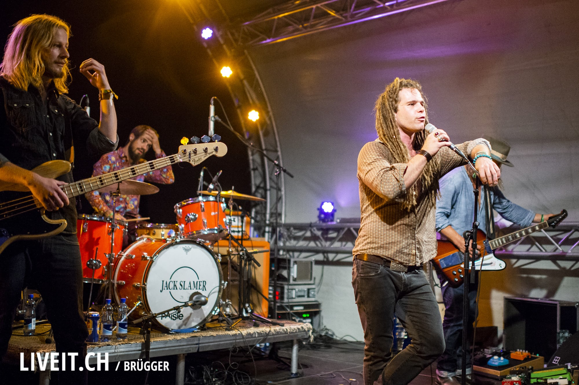 Jack Slamer Thunfest 2018 in Thun. (Dominic Bruegger for liveit.ch)