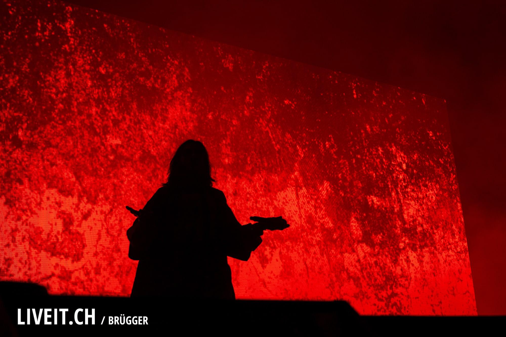 Thirty Seconds To Mars fotografiert am Openair Gampel 2018. (Dominic Bruegger for liveit.ch)