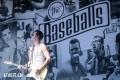 The Baseballs fotografiert am Openair Gampel 2018. (Dominic Bruegger for liveit.ch)
