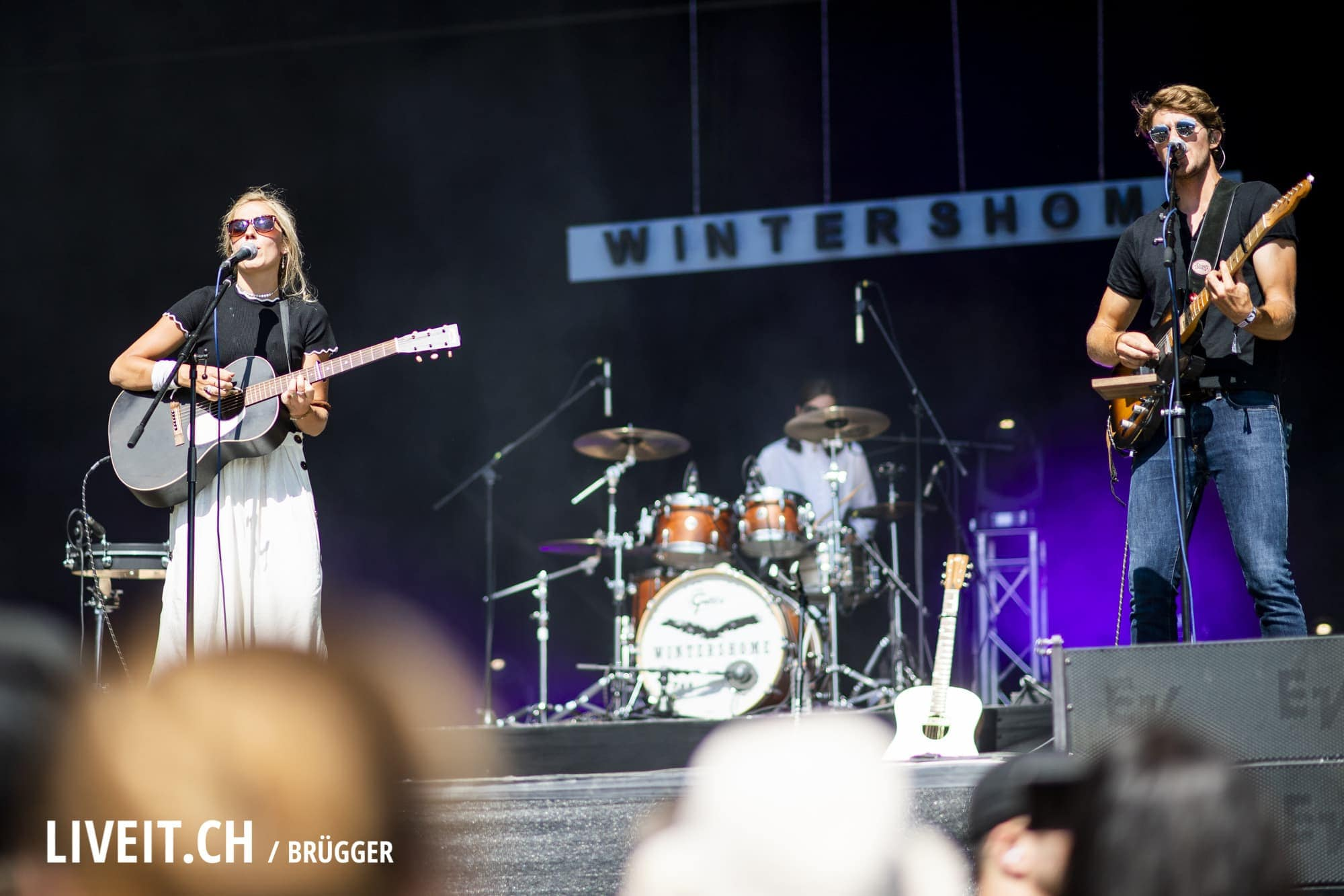 Wintershome fotografiert am Openair Gampel 2018. (Dominic Bruegger for liveit.ch)