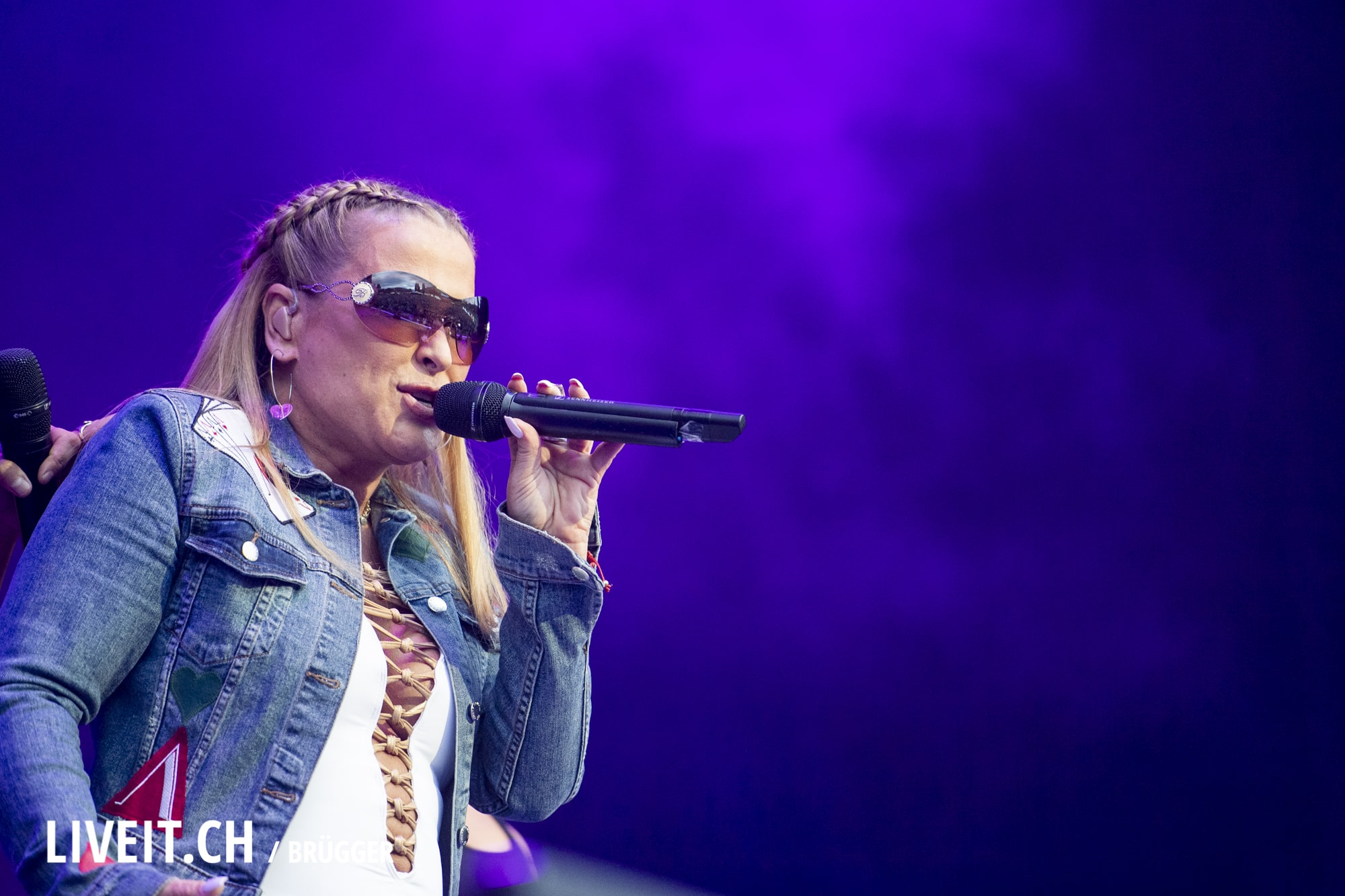 Anastacia fotografiert am Seaside Festival 2018. (Dominic Bruegger for liveit.ch)