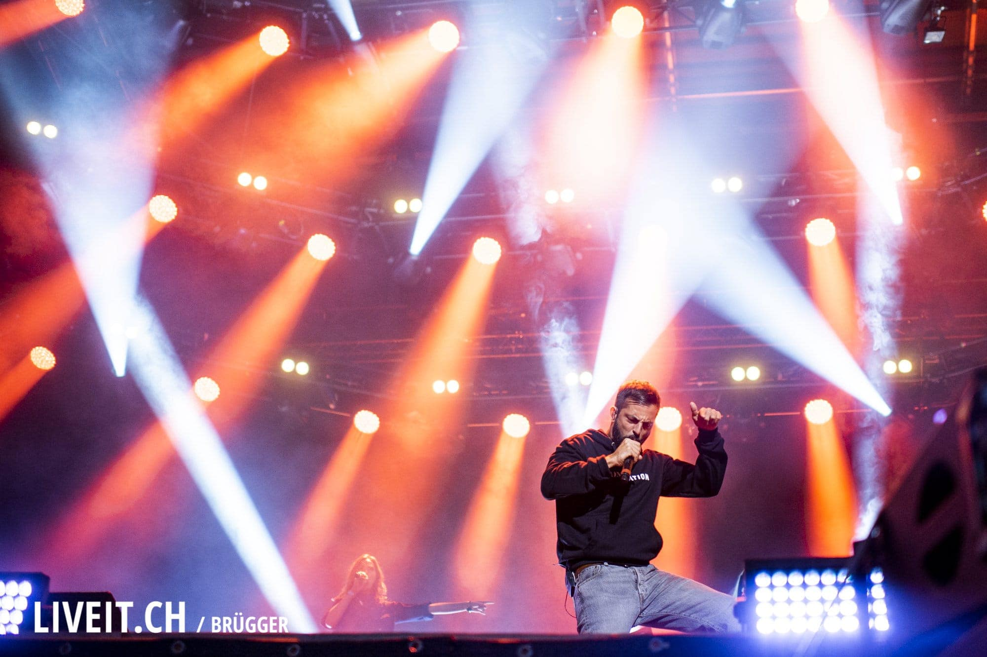 Bligg fotografiert am Seaside Festival 2018. (Dominic Bruegger for liveit.ch)