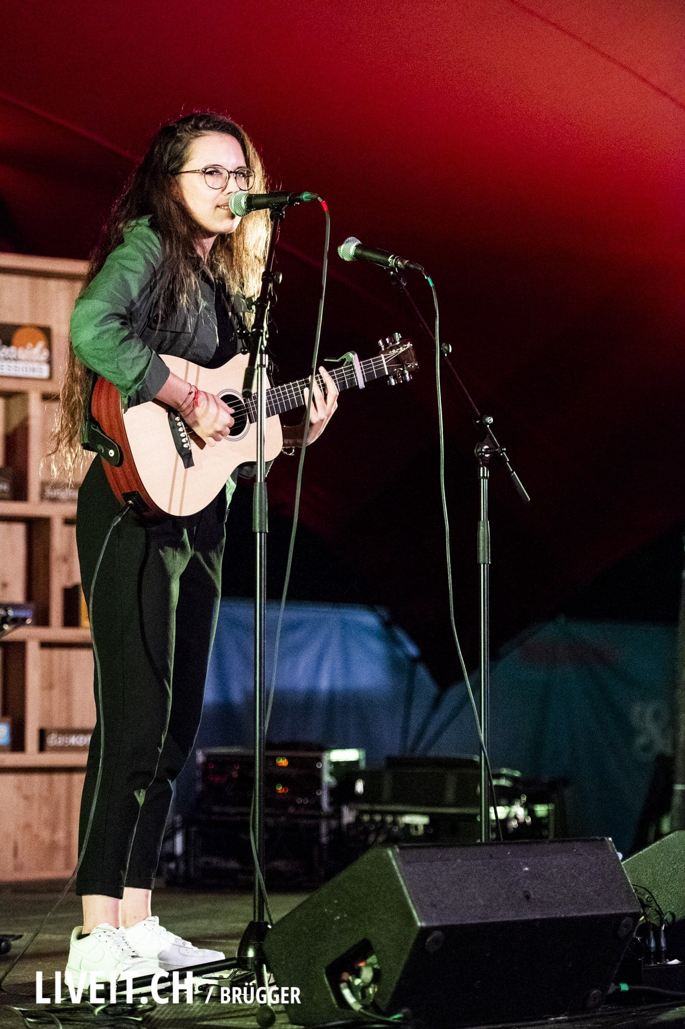 Veronica Fusaro fotografiert am Seaside Festival 2018. (Dominic Bruegger for liveit.ch)