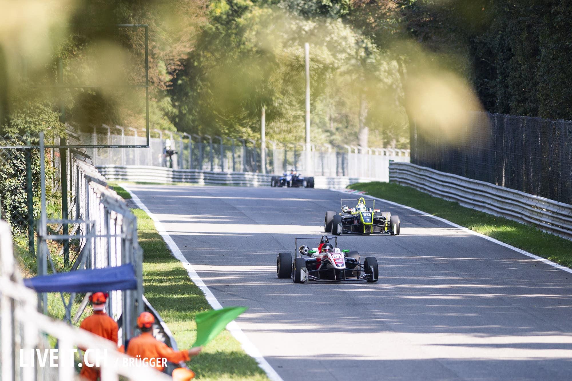 Euroformula Open, Race 2 am Sonntag 23. September 2018 in Monza (Fotografiert von Dominic Bruegger für liveit.ch)